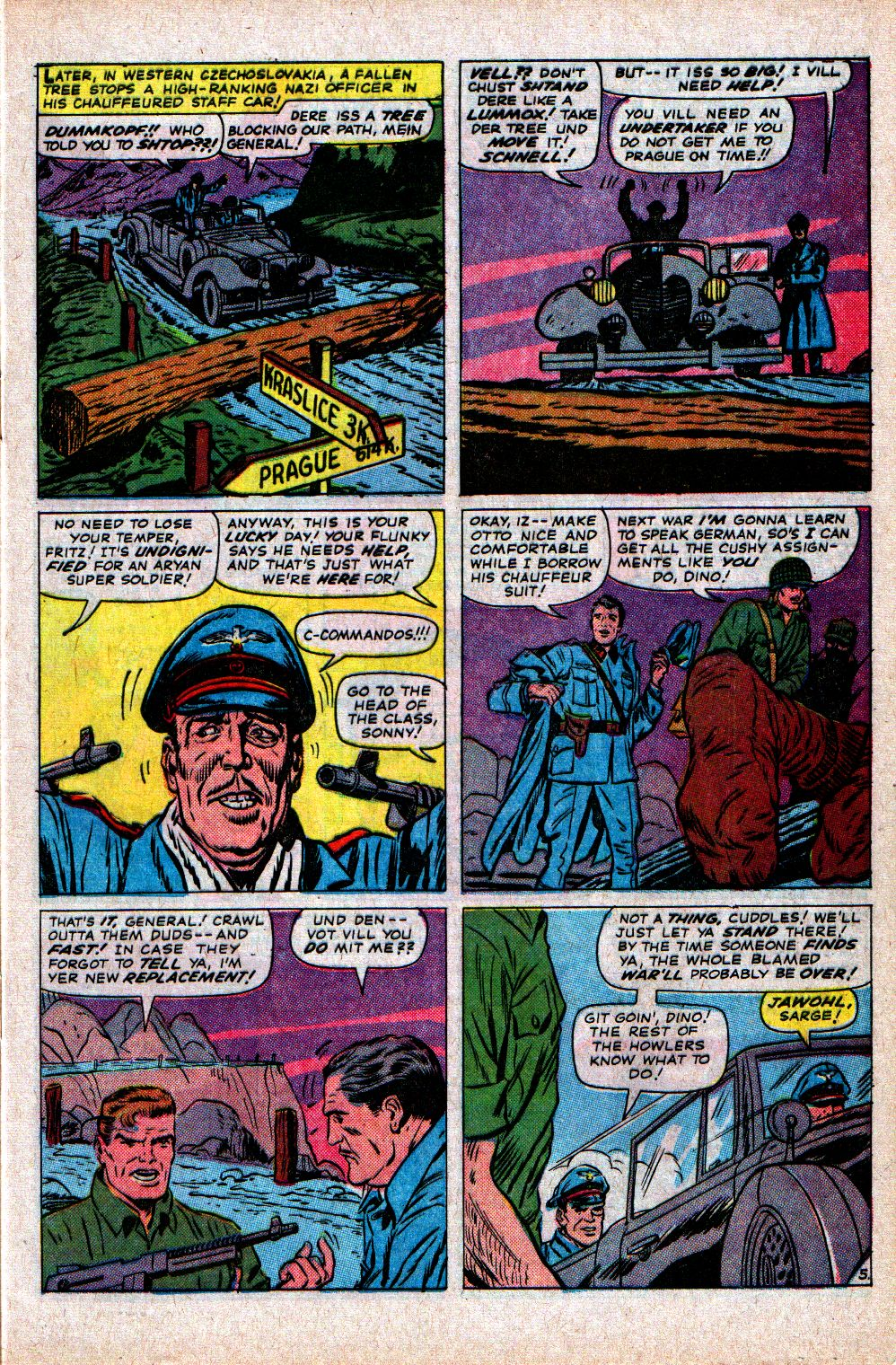 Read online Sgt. Fury comic -  Issue #21 - 9