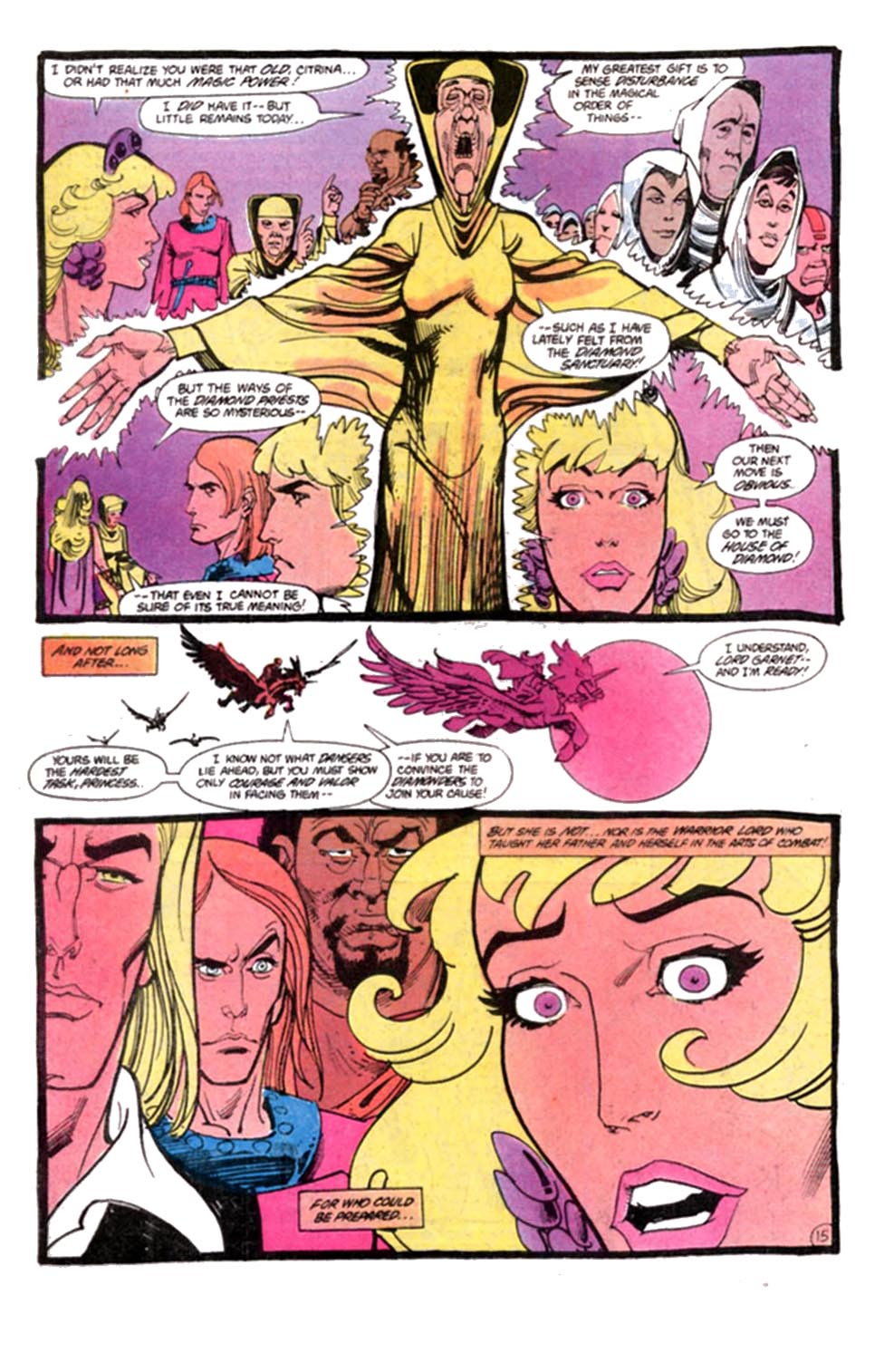 Read online Amethyst, Princess of Gemworld comic -  Issue #8 - 16