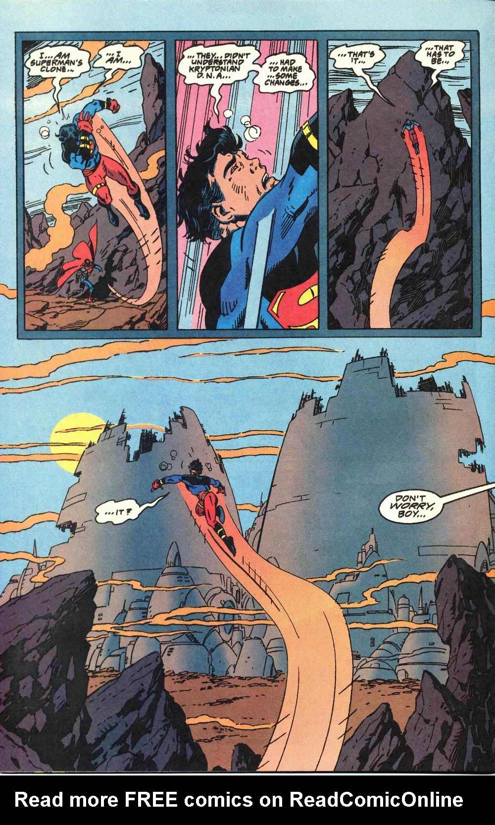 Read online Adventures of Superman (1987) comic -  Issue #503 - 21