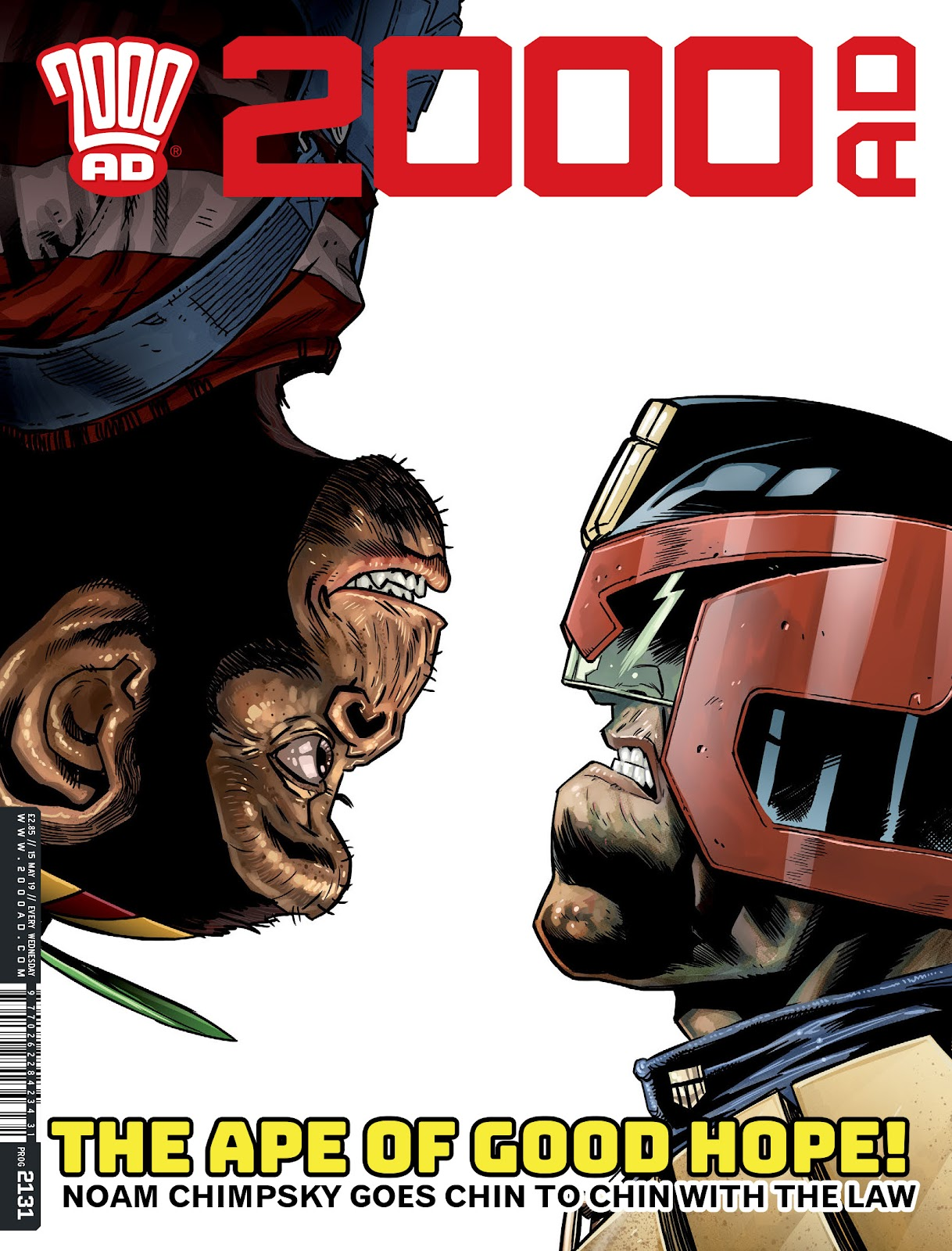 2000 AD issue 2131 - Page 1