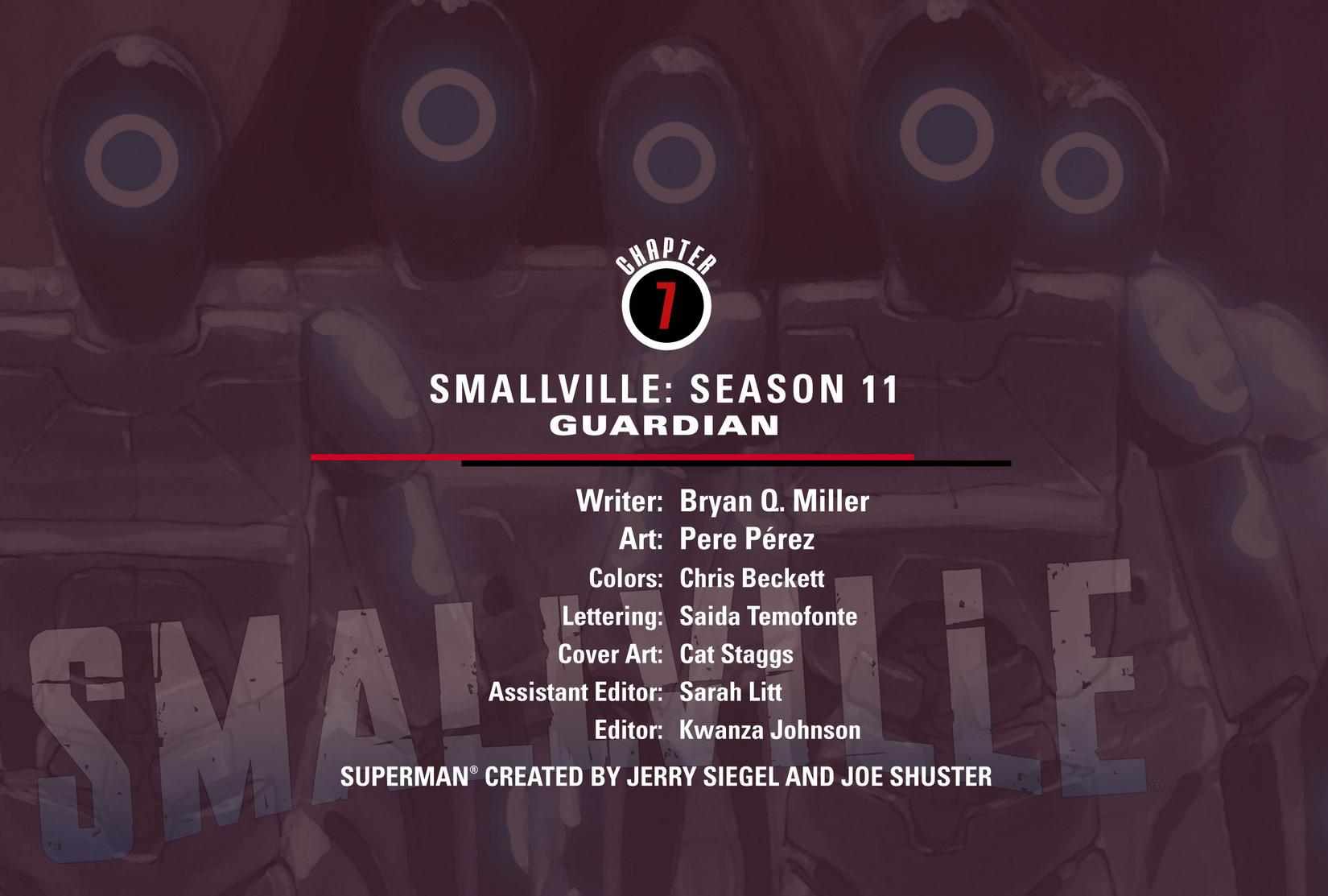 Read online Smallville: Season 11 comic -  Issue #7 - 2