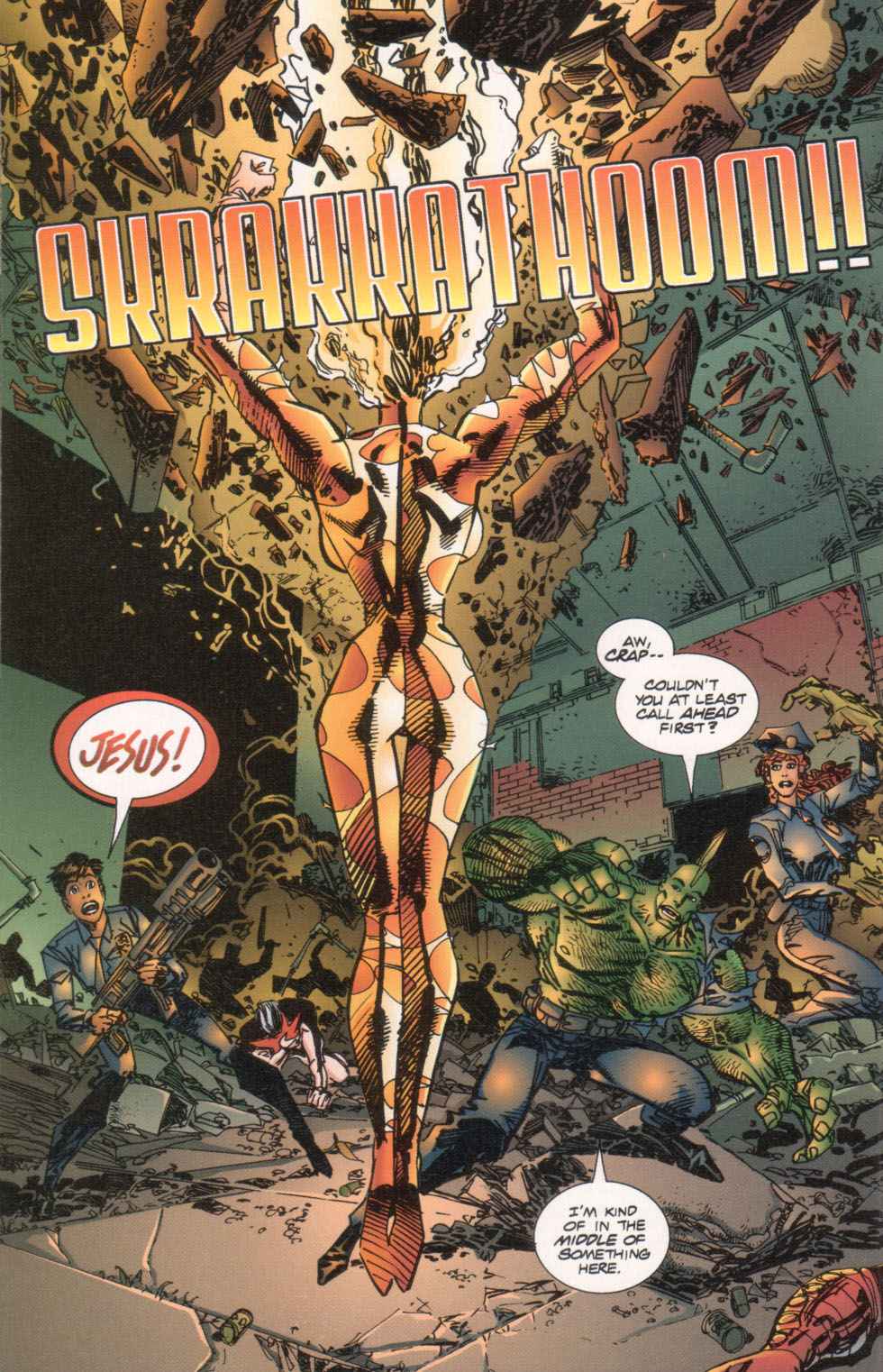 The Savage Dragon (1993) Issue #29 #32 - English 19