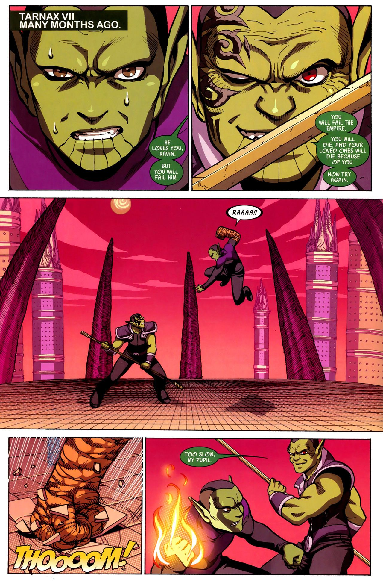 Read online Secret Invasion: Runaways/Young Avengers comic -  Issue #3 - 3