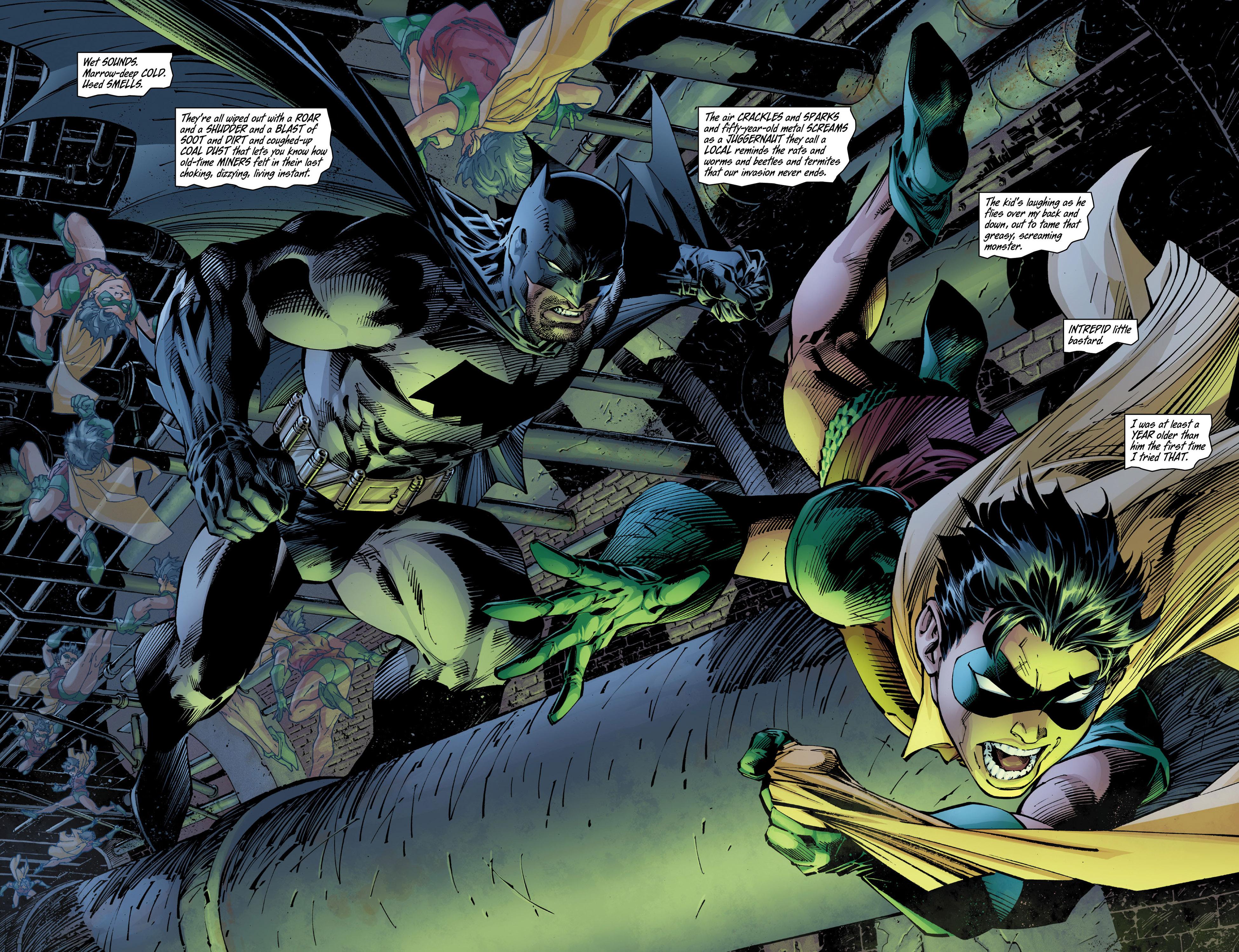 Read online All Star Batman & Robin, The Boy Wonder comic -  Issue #10 - 10