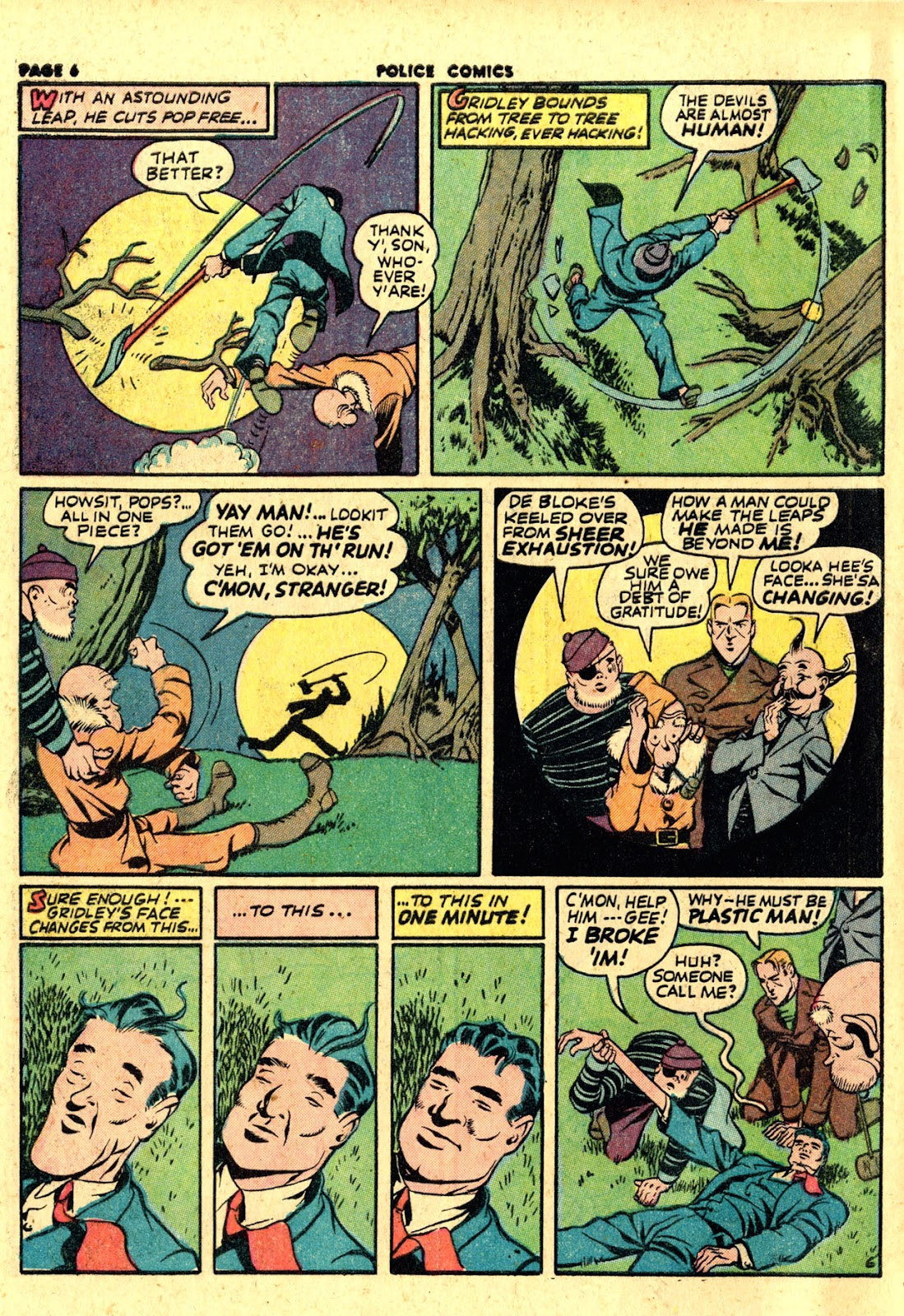 Police Comics issue 19 - Page 8