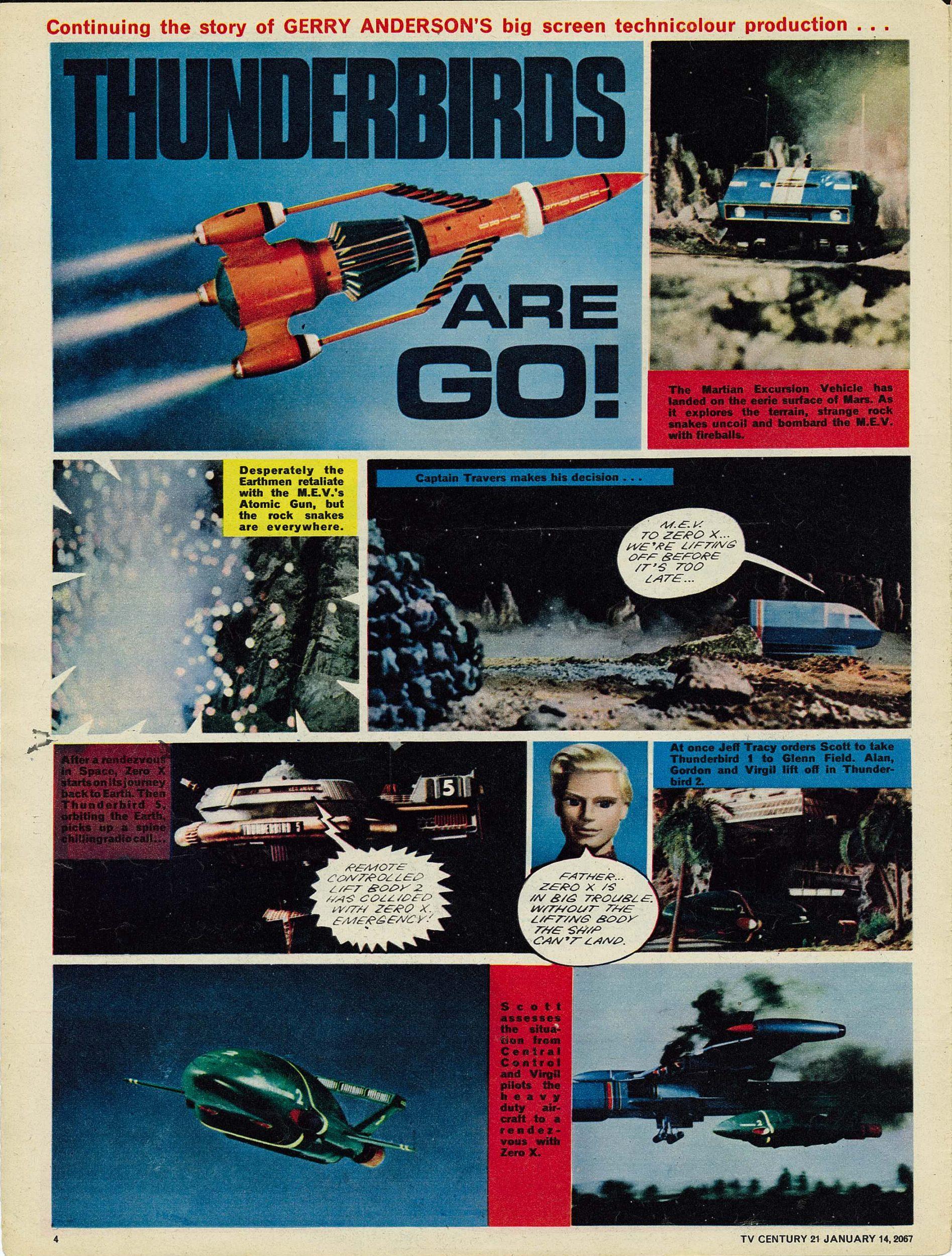 Read online TV Century 21 (TV 21) comic -  Issue #104 - 4