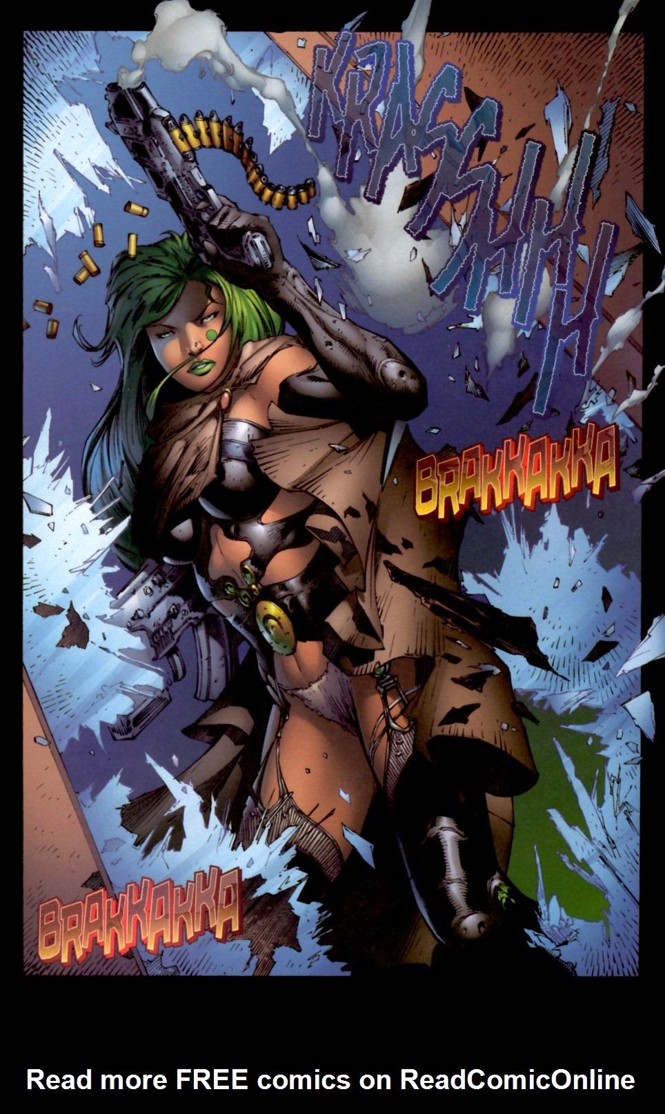 Read online Aphrodite IX (2000) comic -  Issue #4 - 22