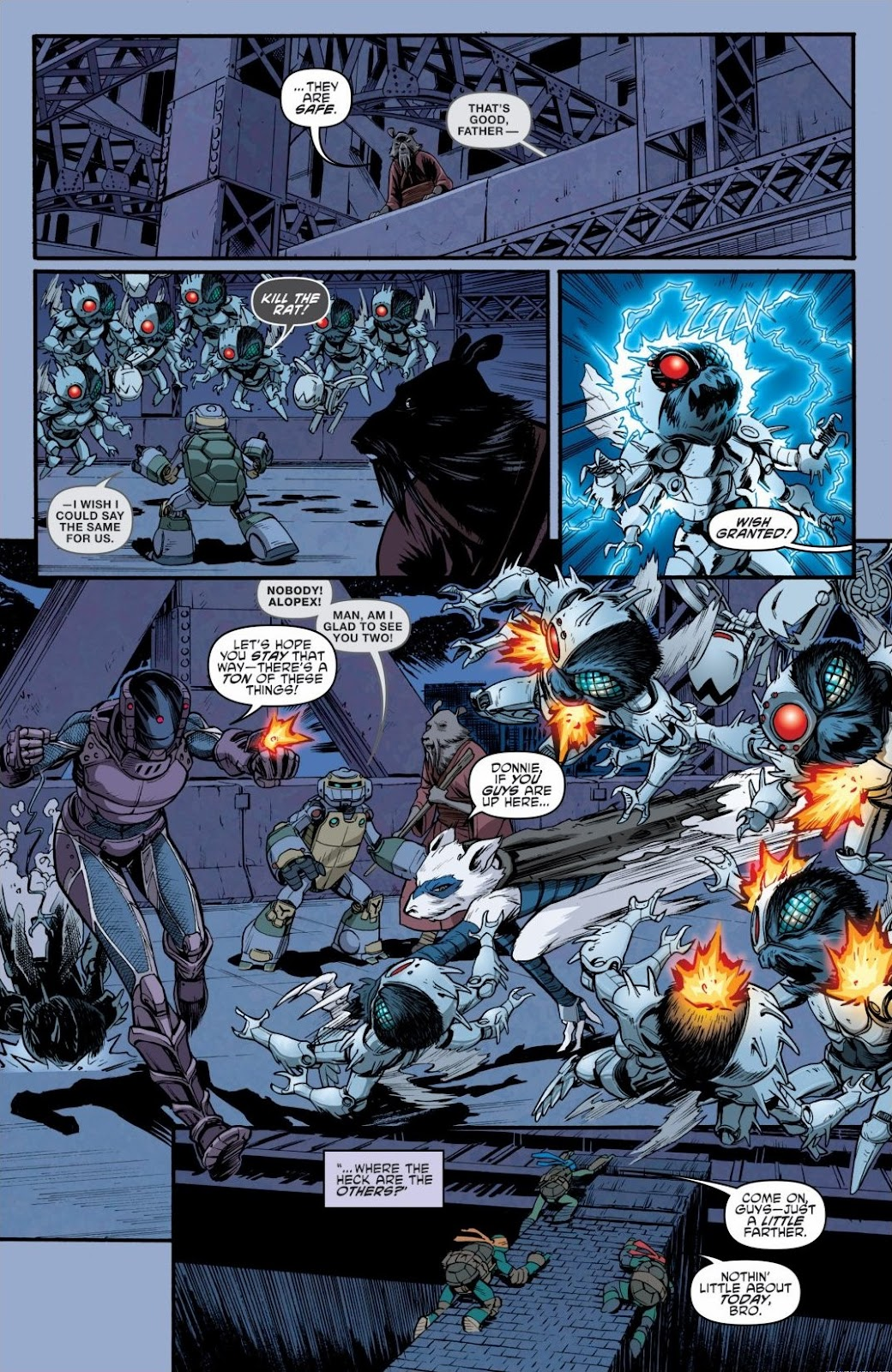 Read online Teenage Mutant Ninja Turtles: The IDW Collection comic -  Issue # TPB 6 (Part 3) - 11