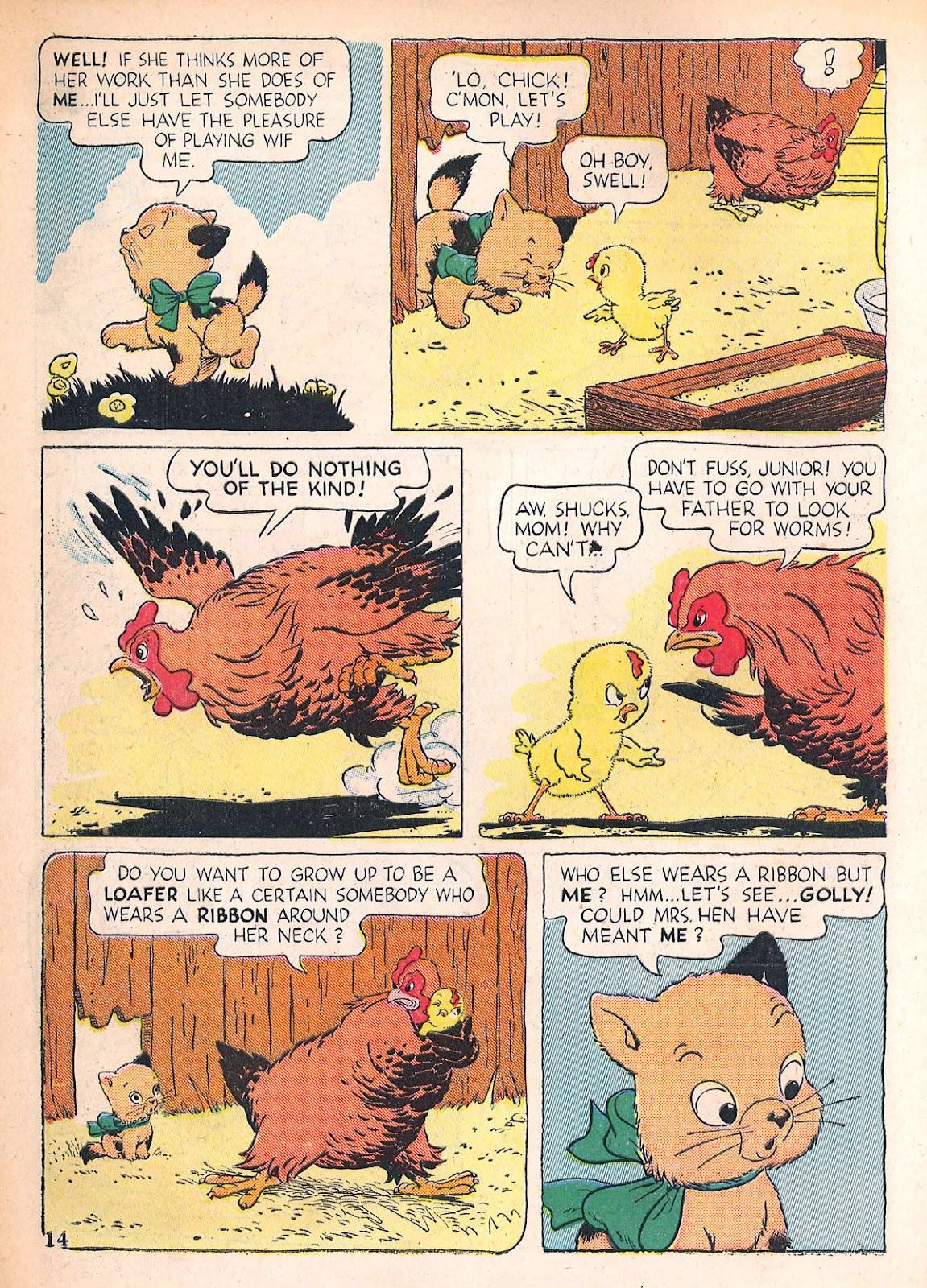 Read online Animal Comics comic -  Issue #4 - 17