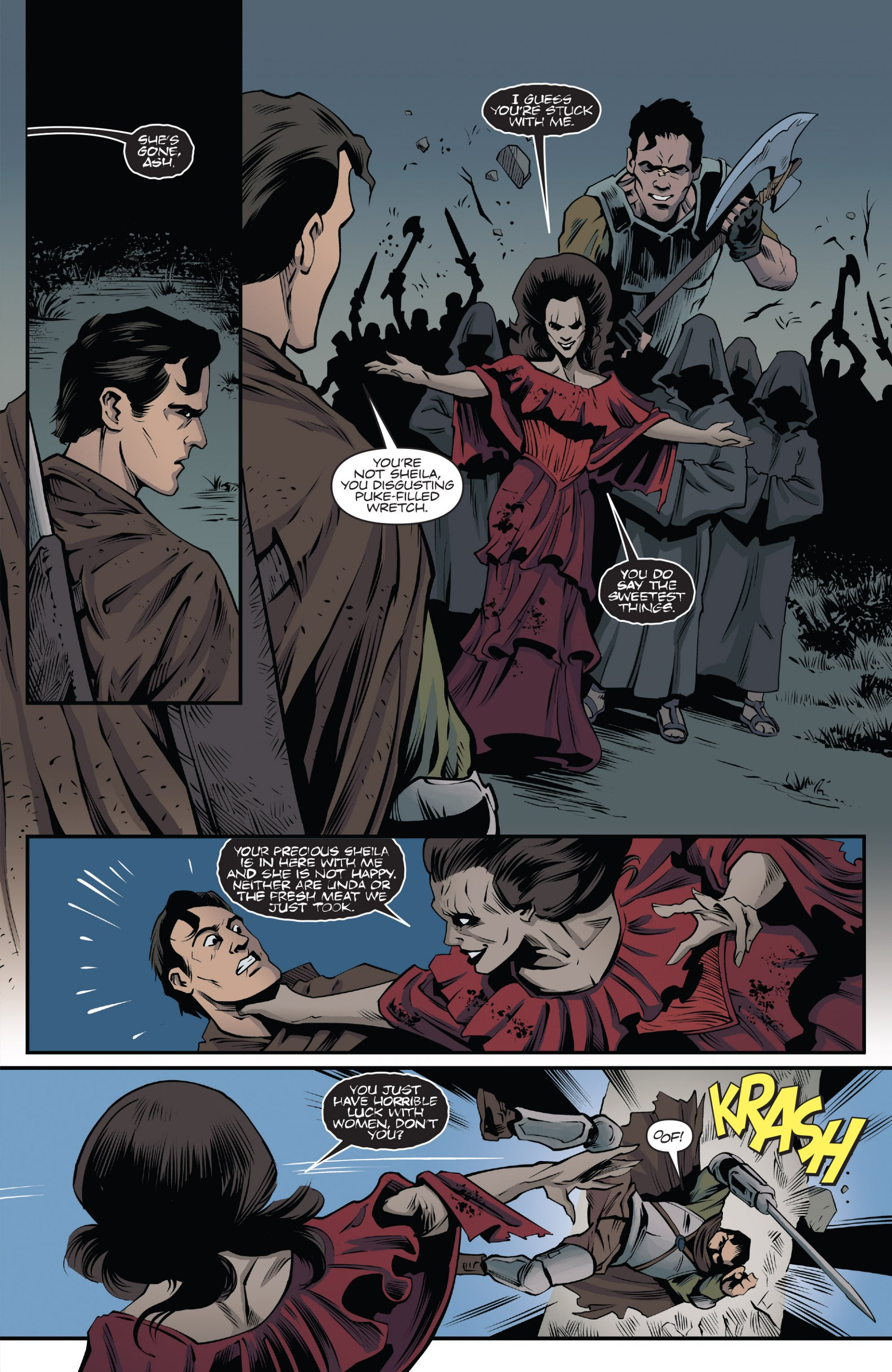 Read online Ash and the Army of Darkness comic -  Issue #7 - 23