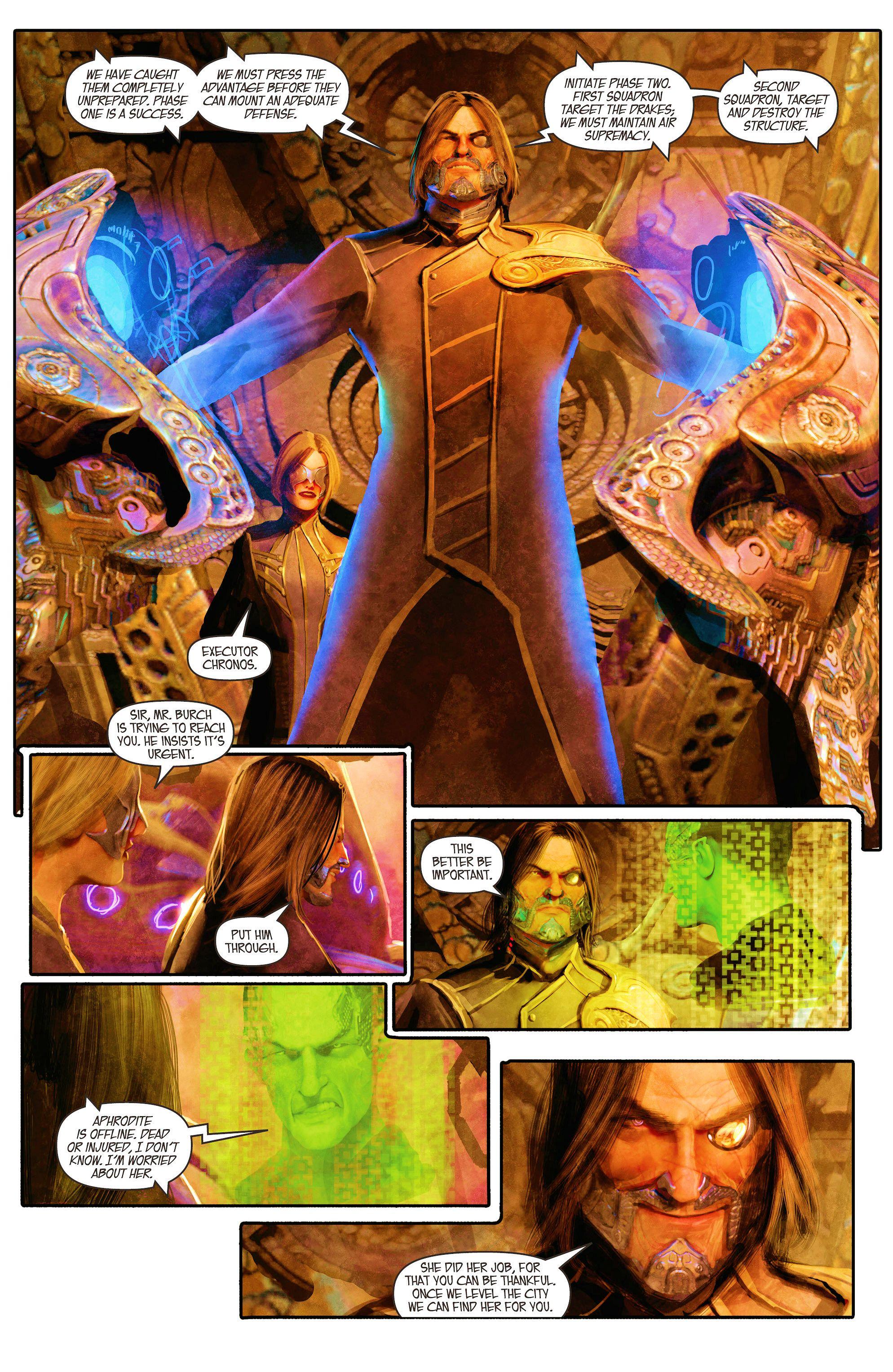 Read online Aphrodite IX (2013) comic -  Issue #5 - 4