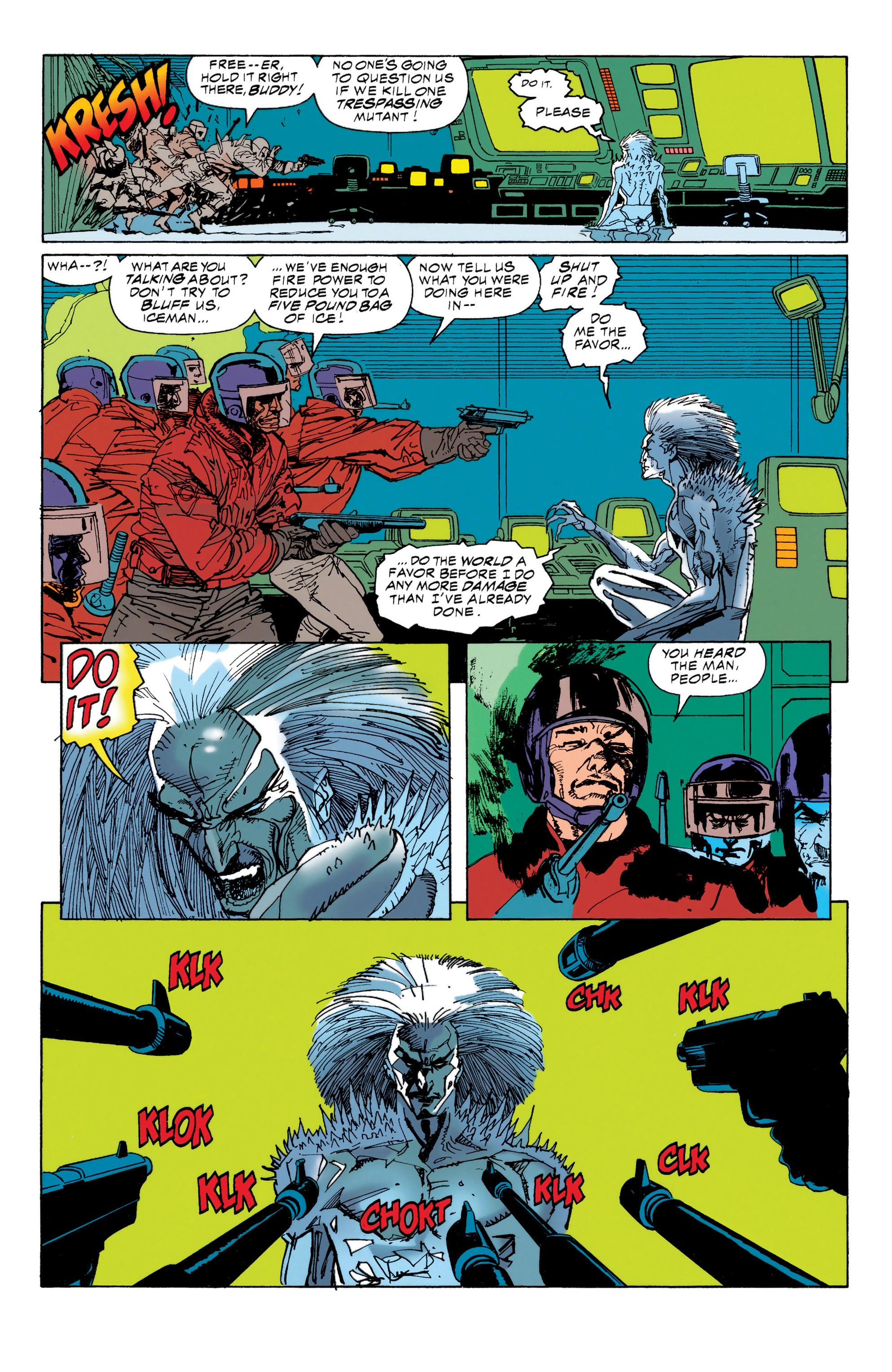 Read online Uncanny X-Men (1963) comic -  Issue #314 - 18