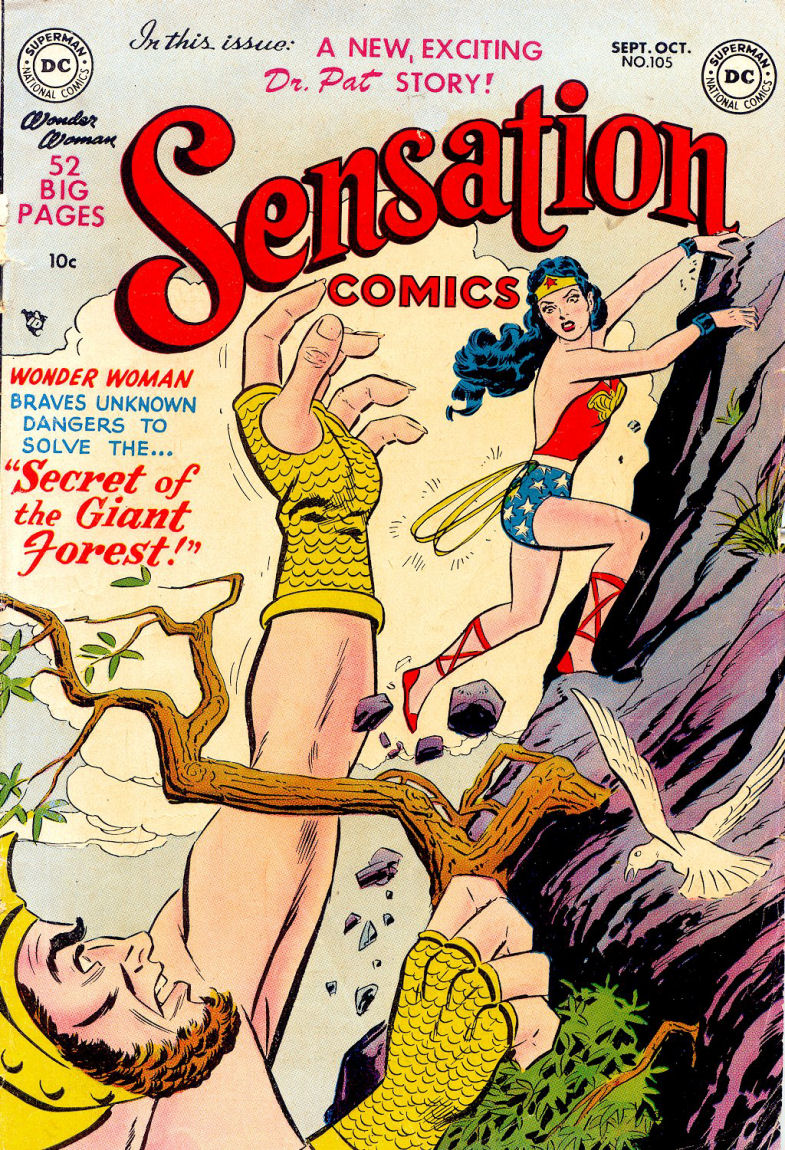 Sensation (Mystery) Comics 105 Page 1