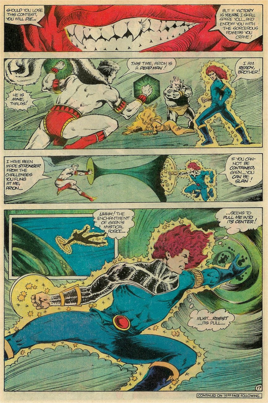 Read online Arion, Lord of Atlantis comic -  Issue #19 - 18