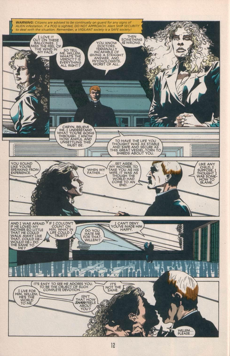Read online Aliens/Predator: The Deadliest of the Species comic -  Issue #1 - 13