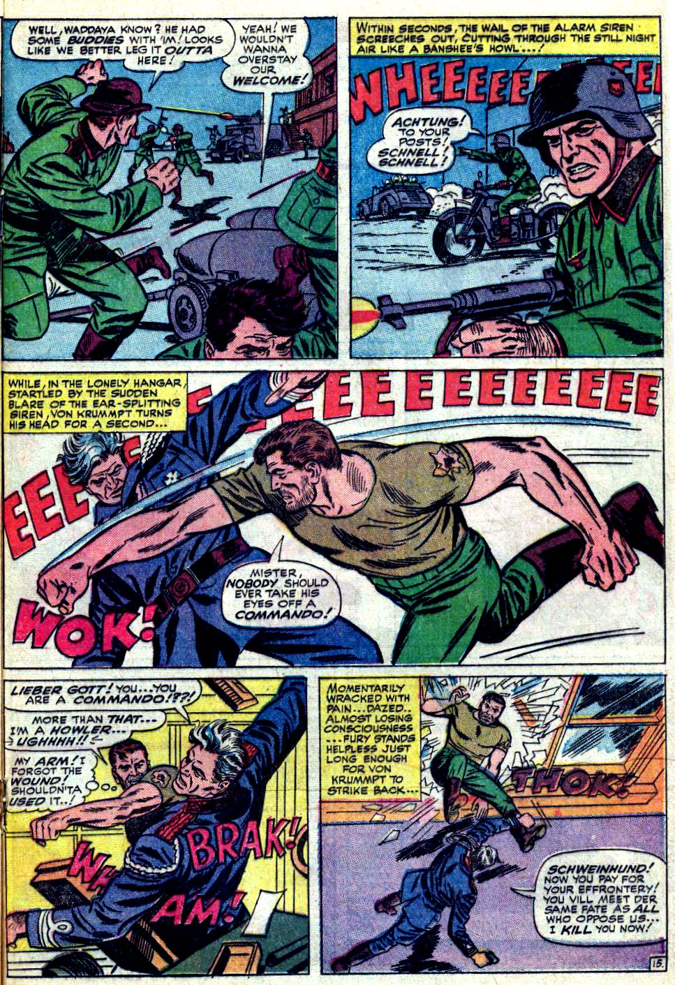 Read online Sgt. Fury comic -  Issue #19 - 21