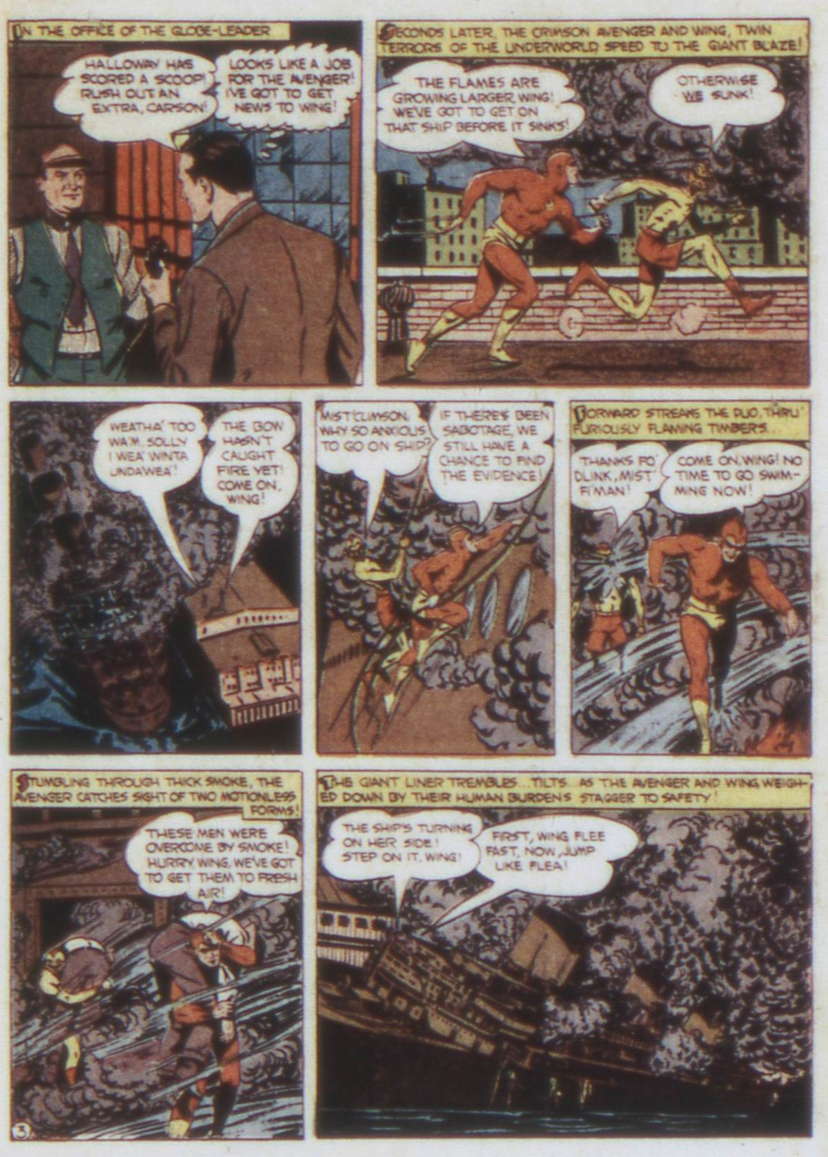 Read online Detective Comics (1937) comic -  Issue #74 - 33