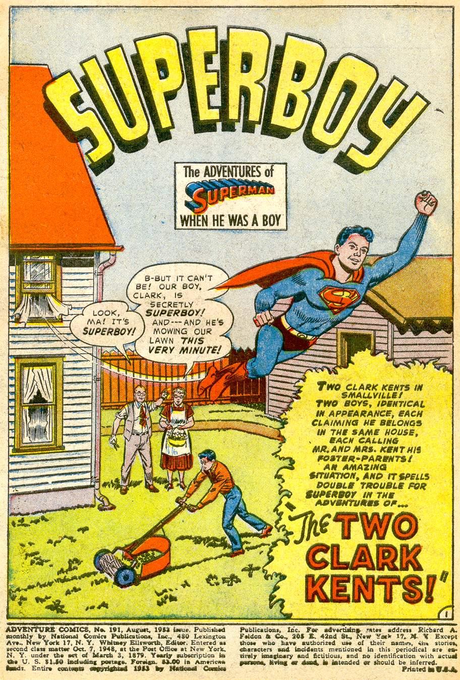 Read online Adventure Comics (1938) comic -  Issue #191 - 3