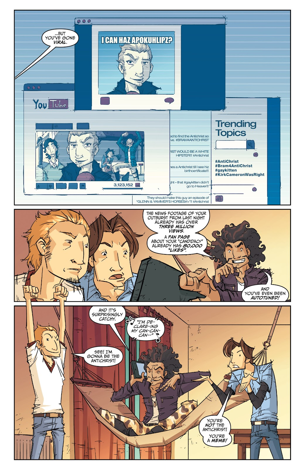 Read online The End Times of Bram and Ben comic -  Issue #2 - 4
