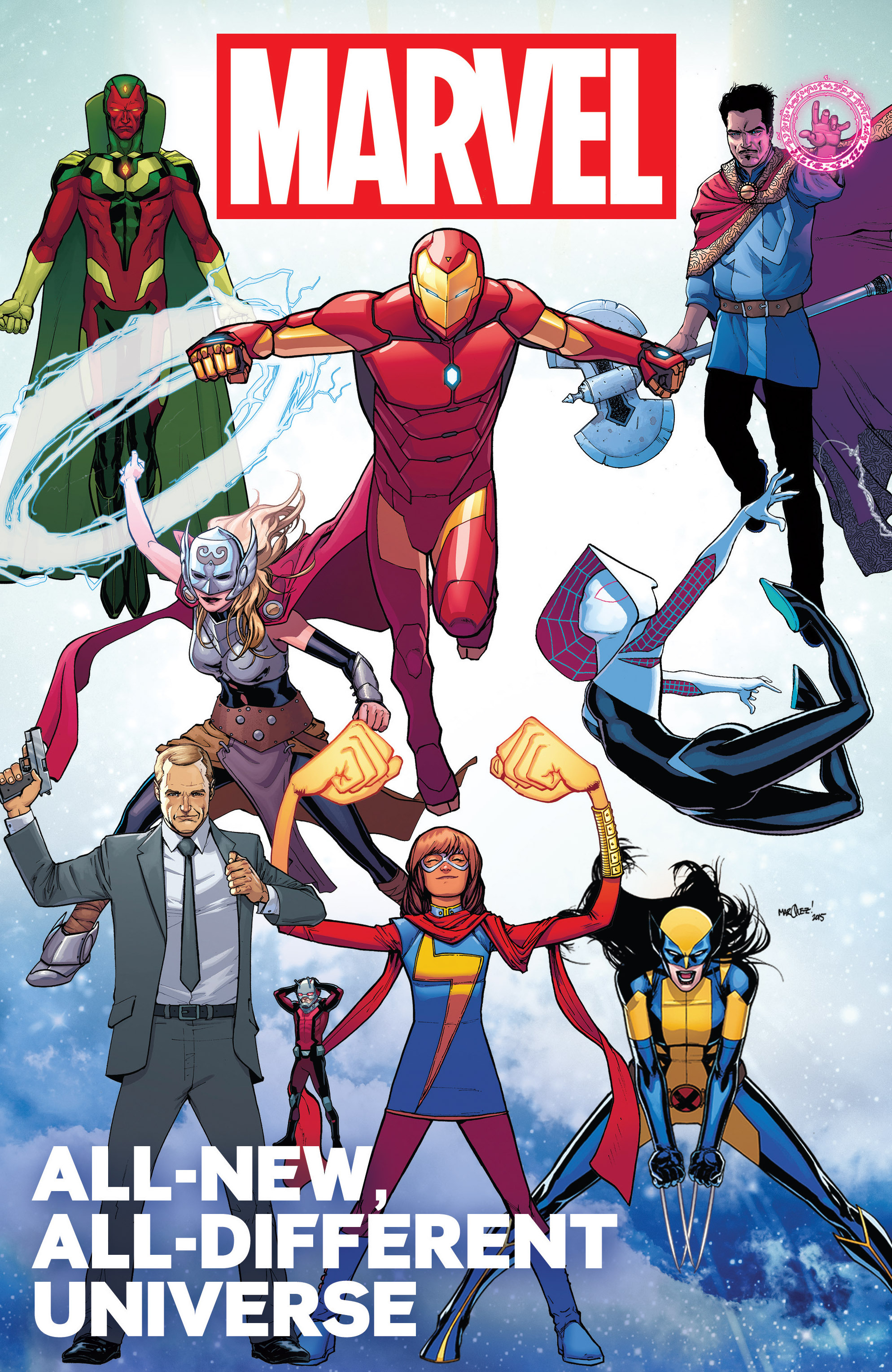 All-New, All Different Marvel Universe Full Page 1