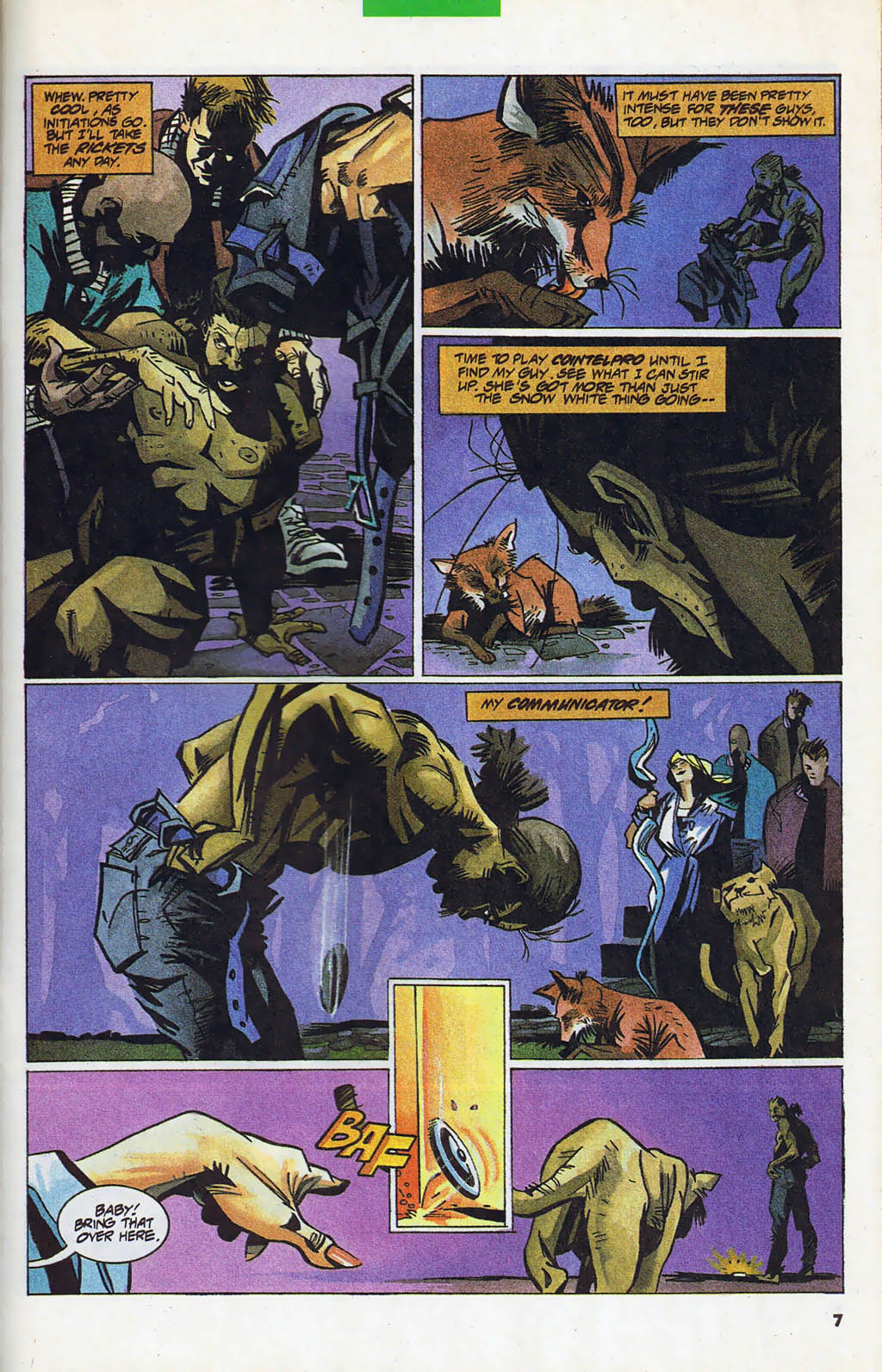 Read online Shadow Cabinet comic -  Issue #4 - 6