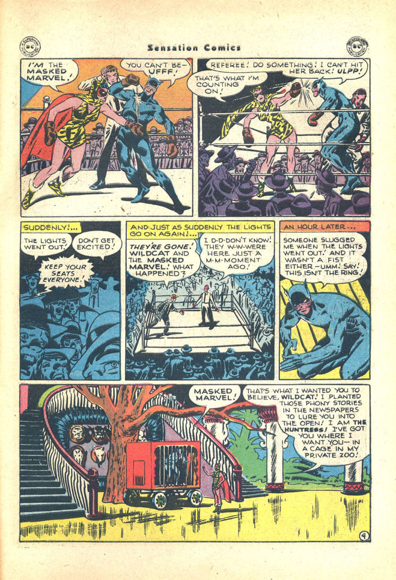Read online Sensation (Mystery) Comics comic -  Issue #68 - 45