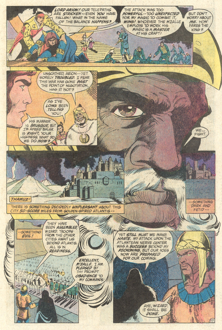 Read online Arion, Lord of Atlantis comic -  Issue #2 - 17