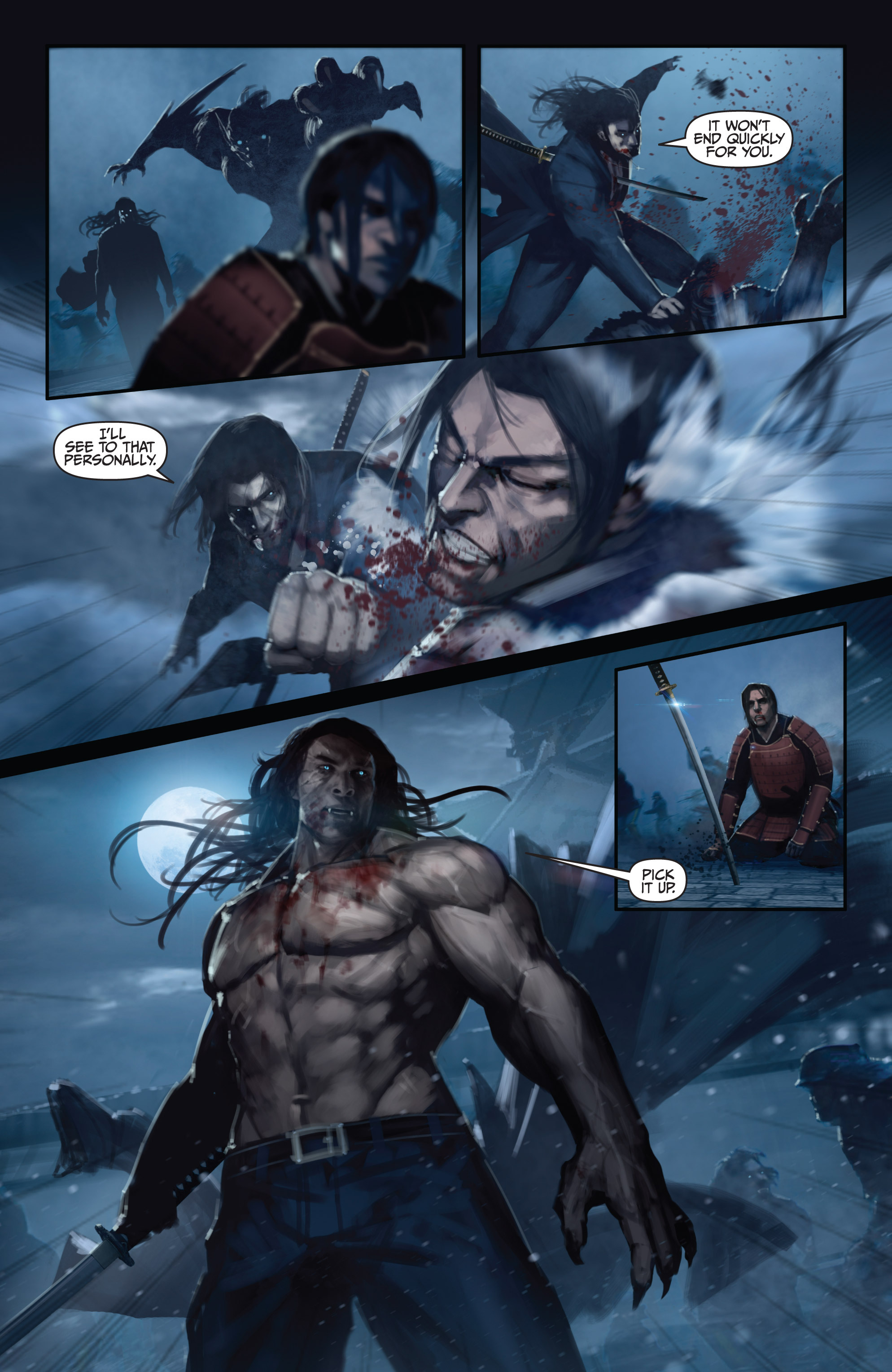Read online Bushido: The Way of the Warrior comic -  Issue #5 - 16
