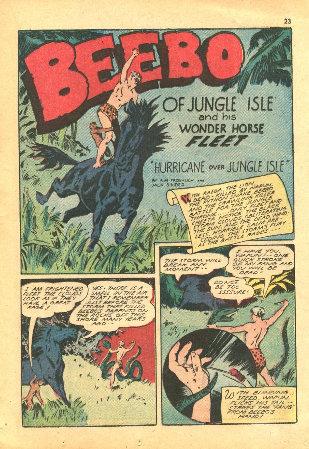 Read online Shadow Comics comic -  Issue #24 - 23