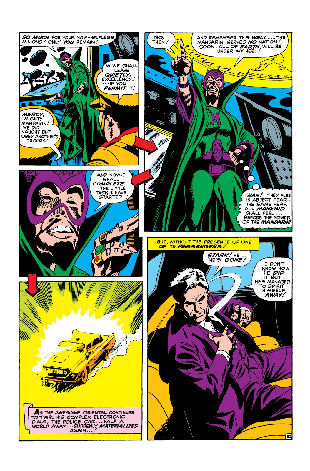 Read online Marvel Masterworks: The Invincible Iron Man comic -  Issue # TPB 3 (Part 3) - 43
