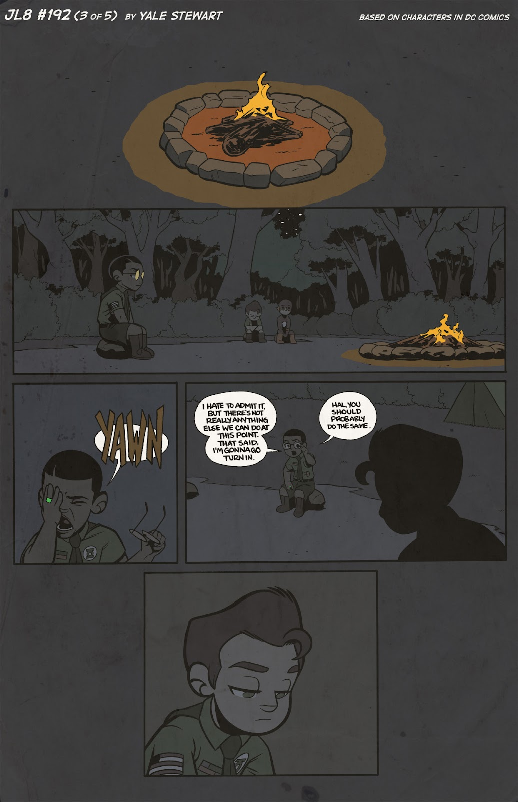 Read online JL8 – The Complete Collection comic -  Issue # TPB (Part 2) - 10