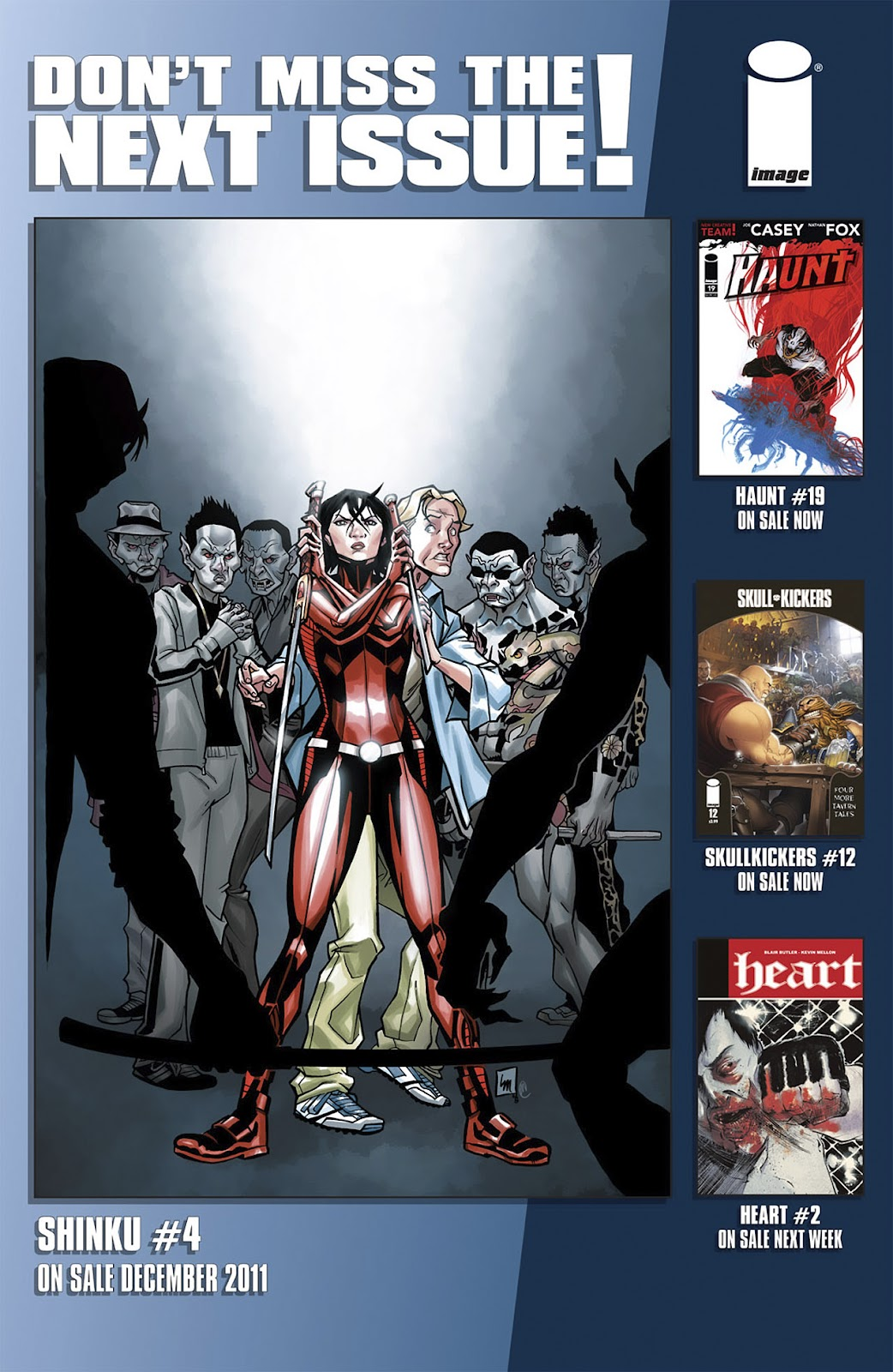 Read online Shinku comic -  Issue #3 - 24