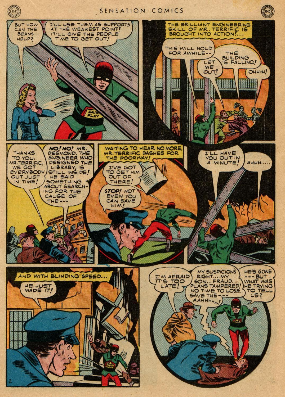 Read online Sensation (Mystery) Comics comic -  Issue #36 - 35