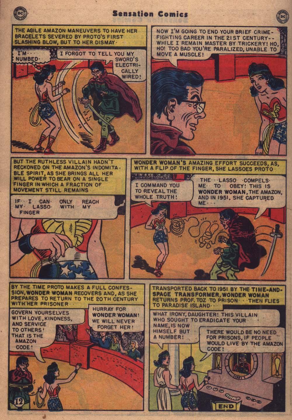 Read online Sensation (Mystery) Comics comic -  Issue #103 - 13