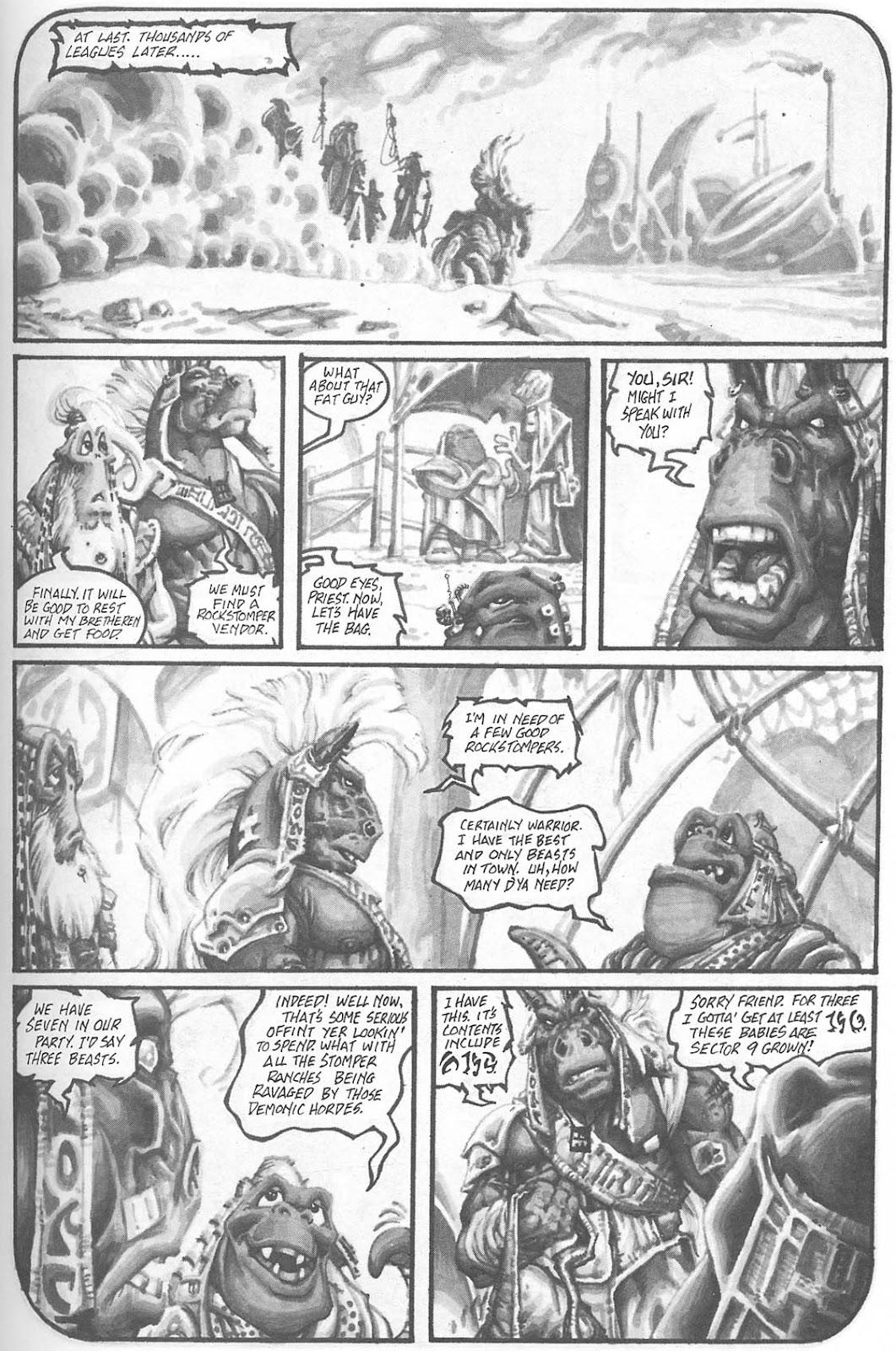Read online Animal Mystic comic -  Issue #4 - 16