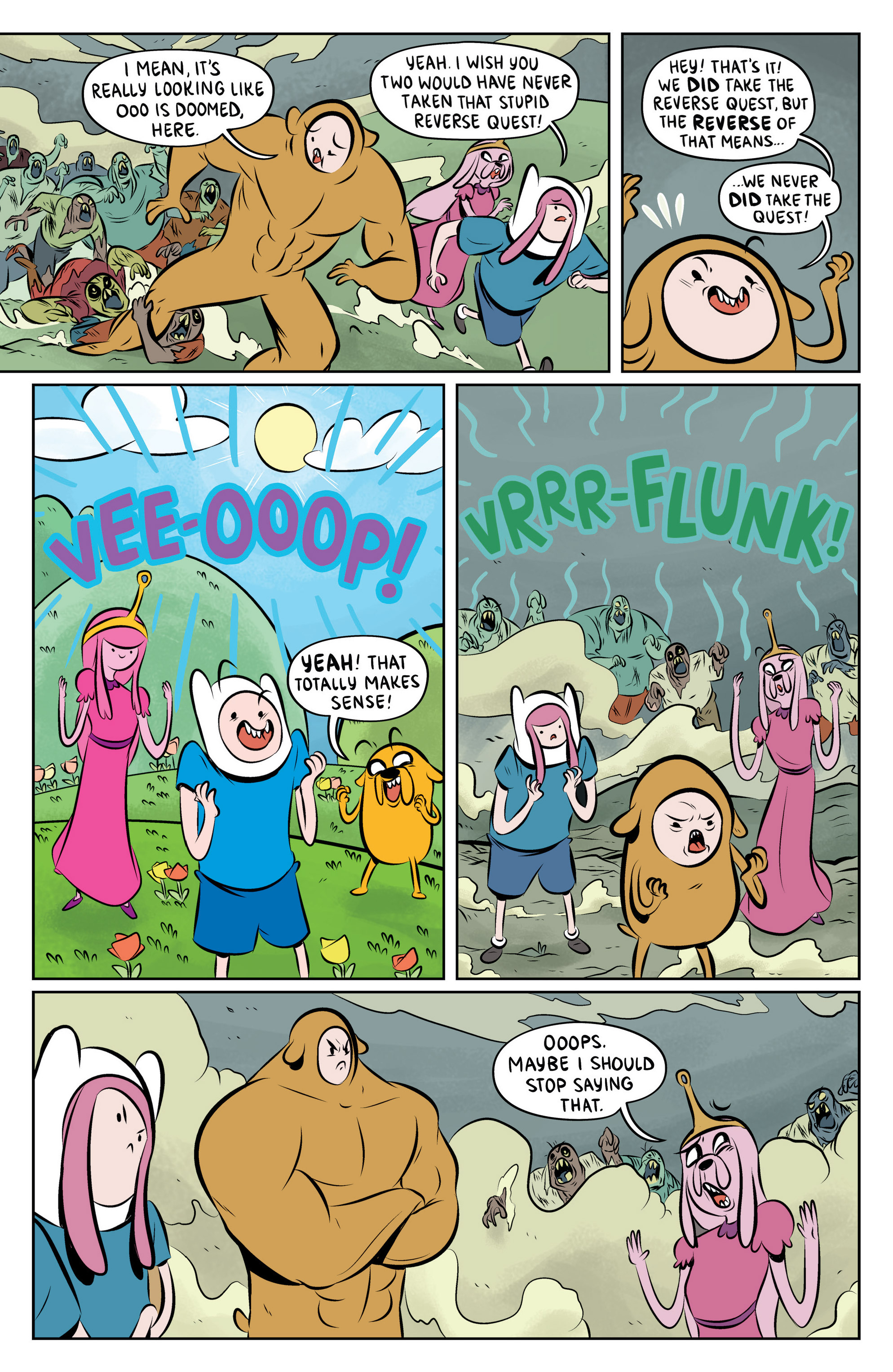 Read online Adventure Time: The Flip Side comic -  Issue #6 - 13