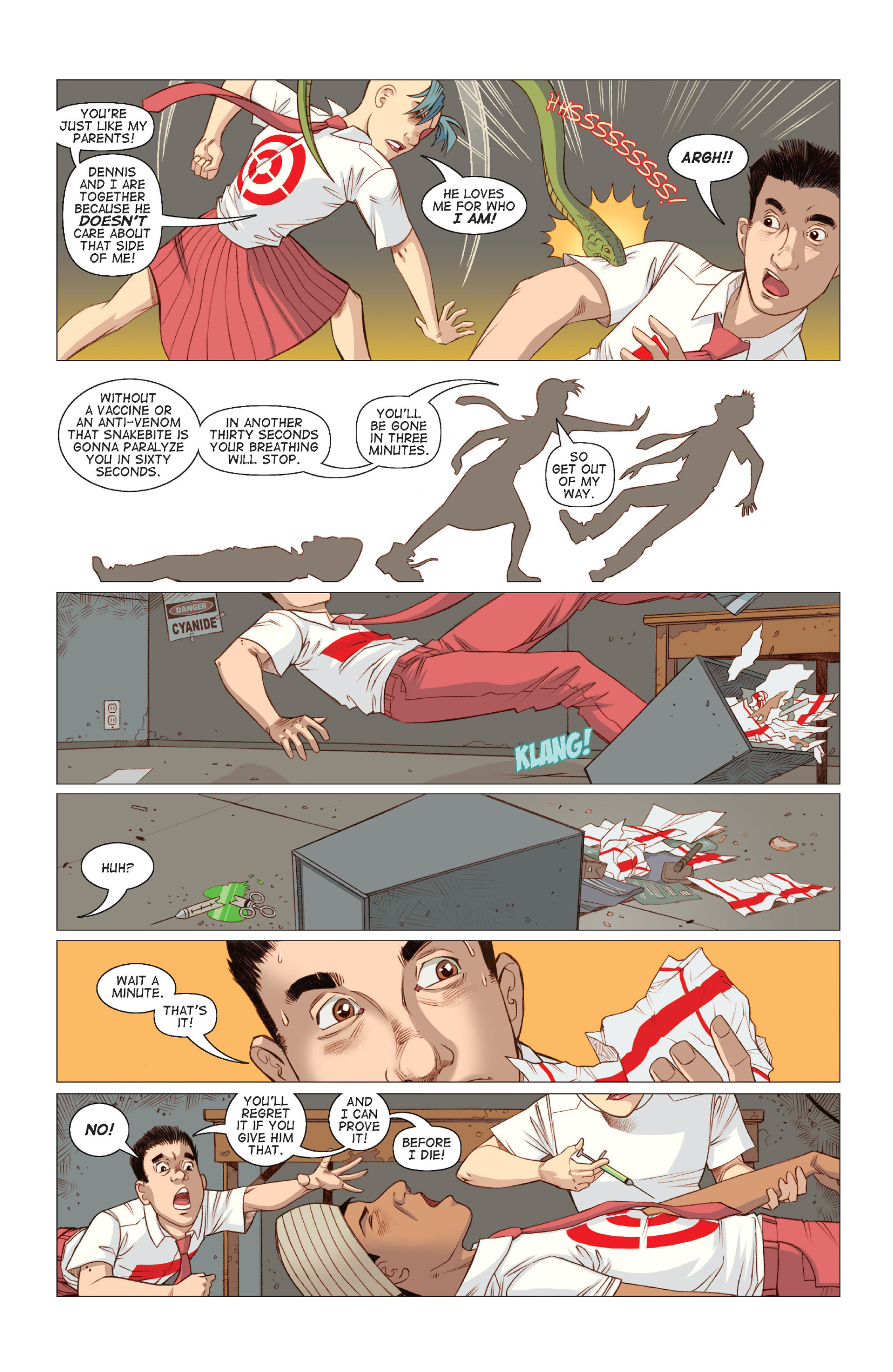 Read online Five Weapons comic -  Issue #8 - 24