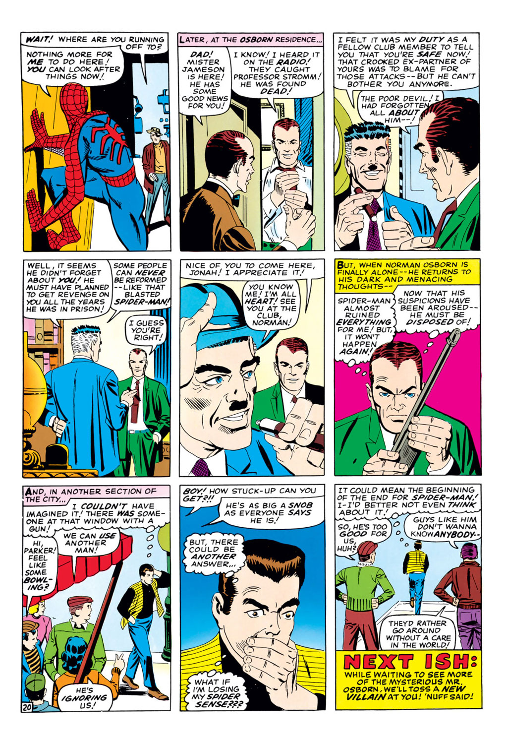 The Amazing Spider-Man (1963) 37 Page 20