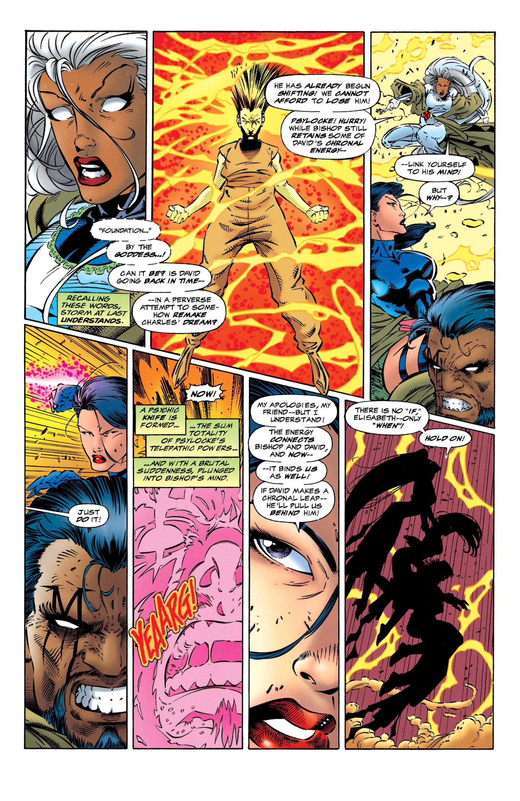 Read online Uncanny X-Men (1963) comic -  Issue #320 - 17