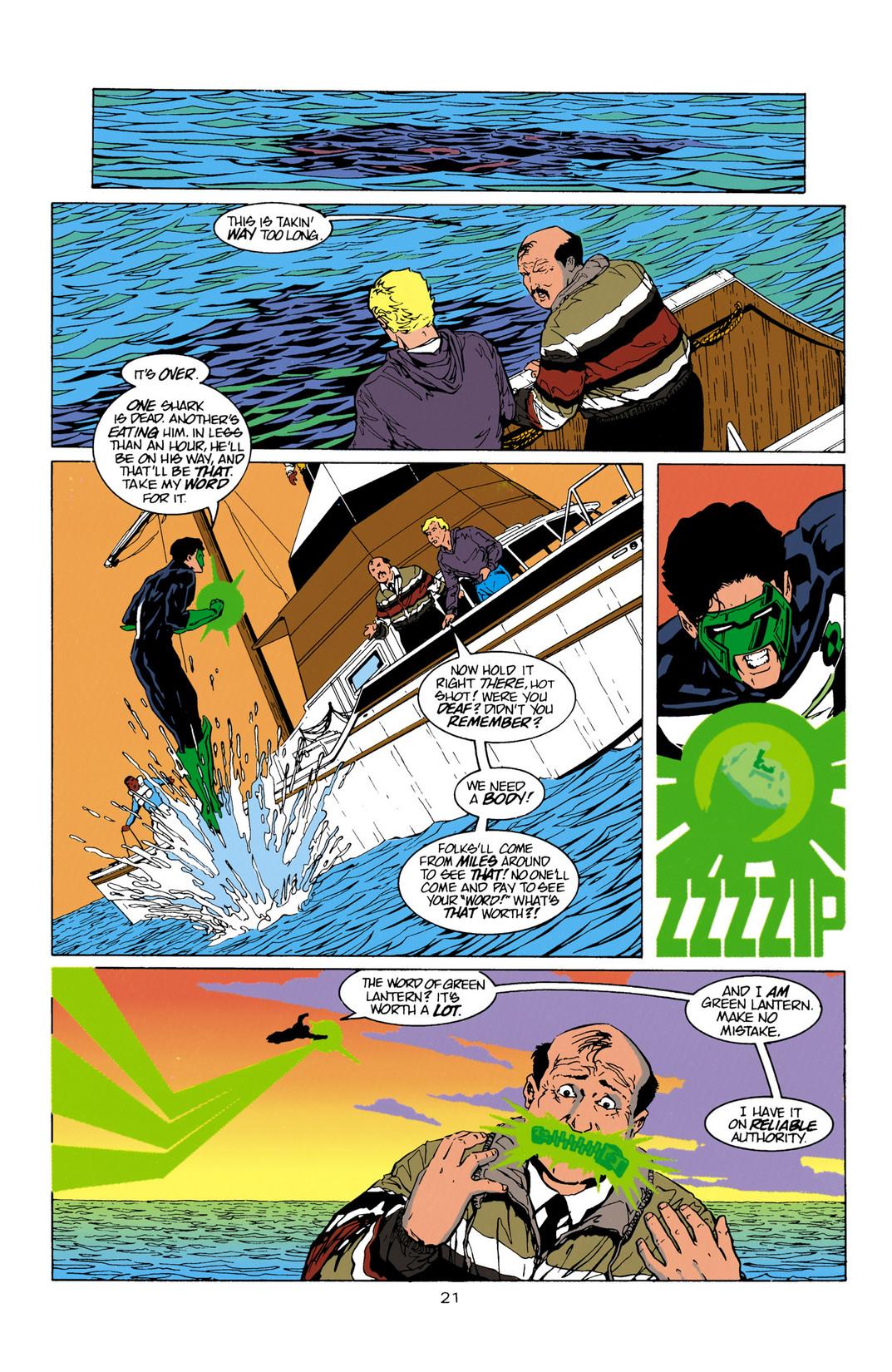 Read online Aquaman (1994) comic -  Issue #10 - 22
