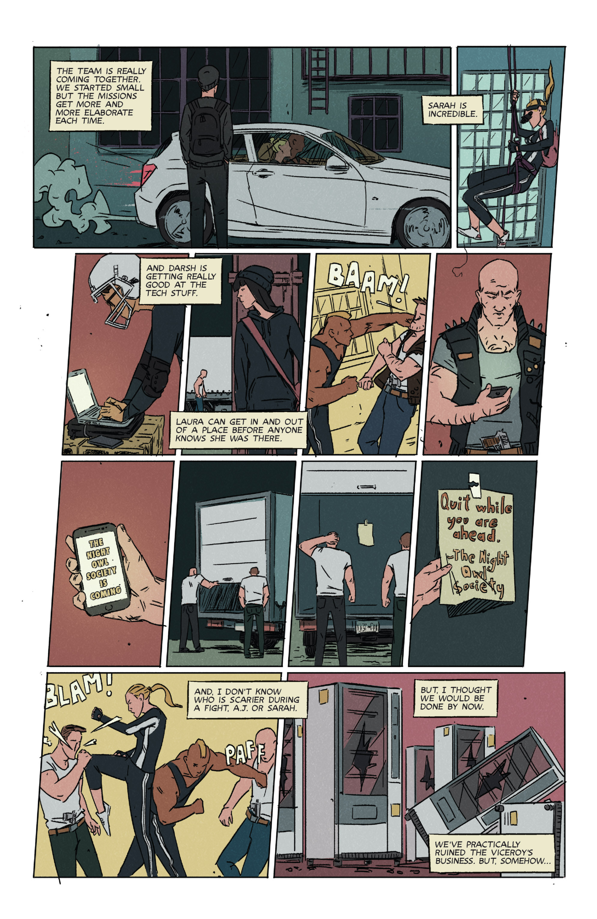 Read online Night Owl Society comic -  Issue #2 - 10
