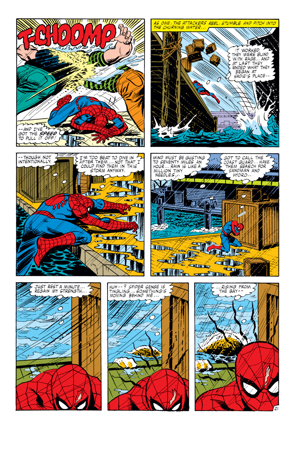 The Amazing Spider-Man (1963) 217 Page 21