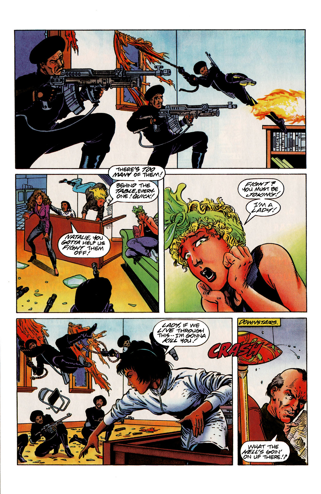 Read online Harbinger (1992) comic -  Issue #19 - 20