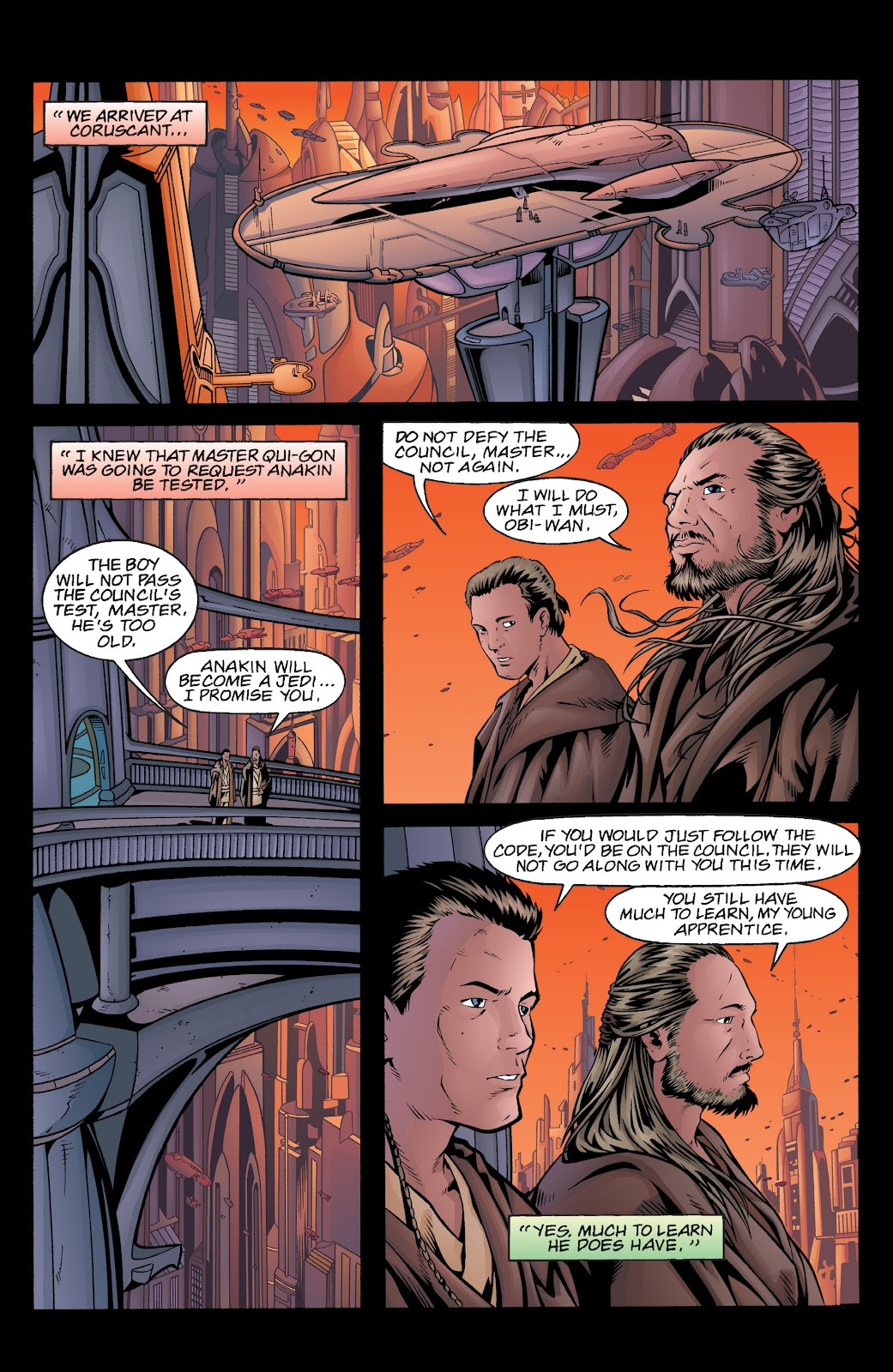 Read online Star Wars Legends: Rise of the Sith - Epic Collection comic -  Issue # TPB 2 (Part 5) - 36