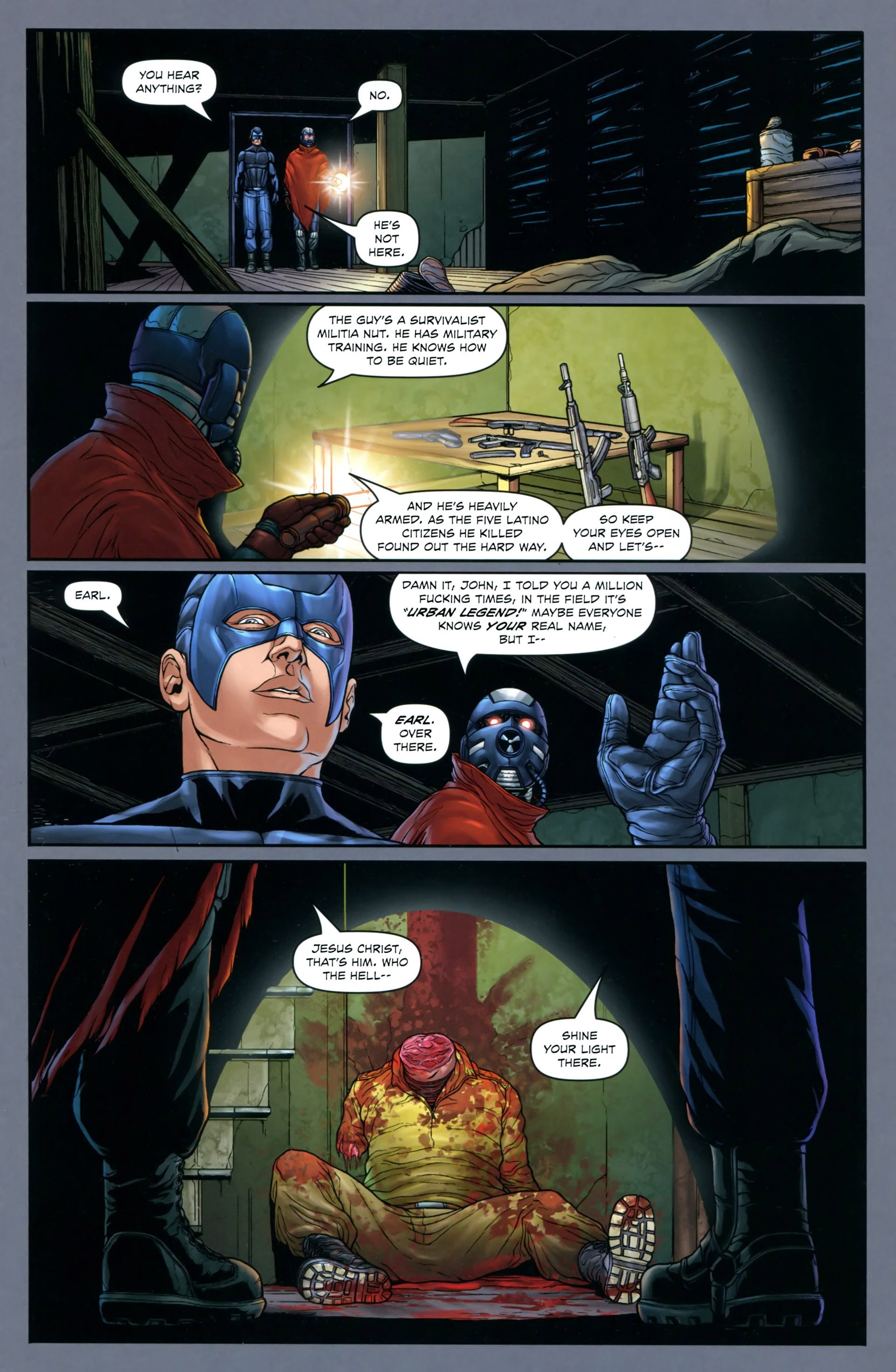 Read online Absolution: Rubicon comic -  Issue #2 - 3