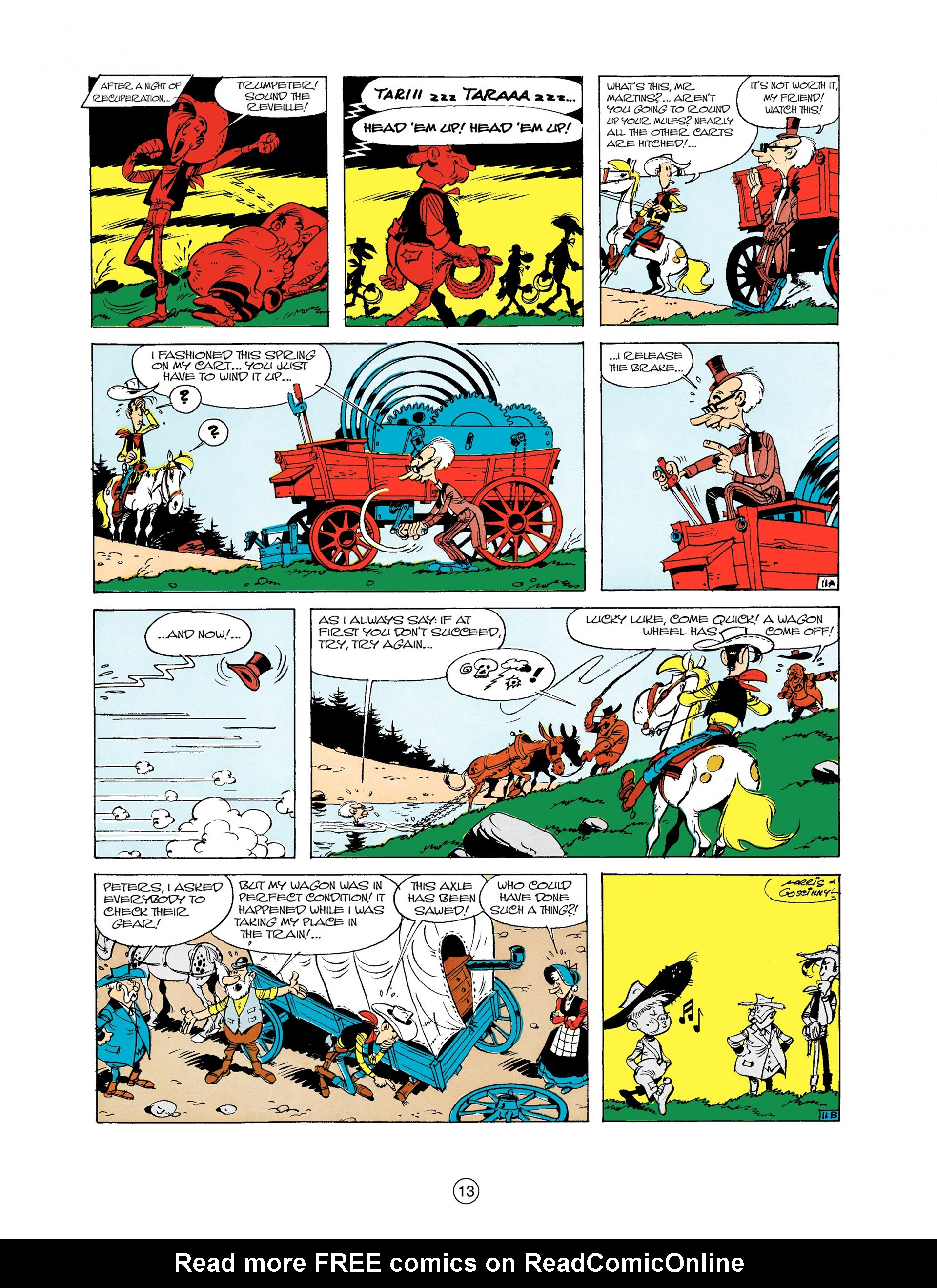 Read online A Lucky Luke Adventure comic -  Issue #9 - 13