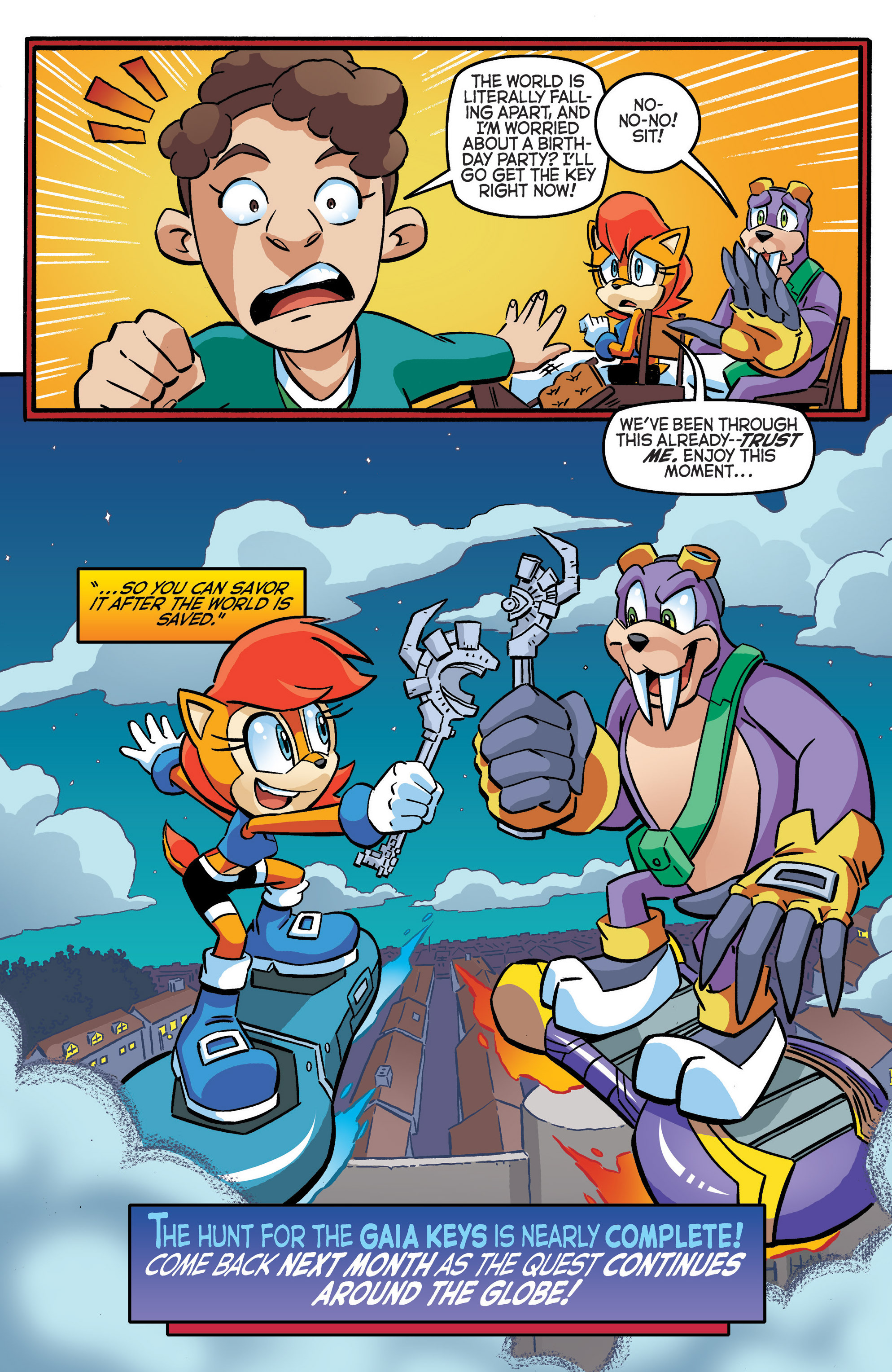 Read online Sonic The Hedgehog comic -  Issue #280 - 22