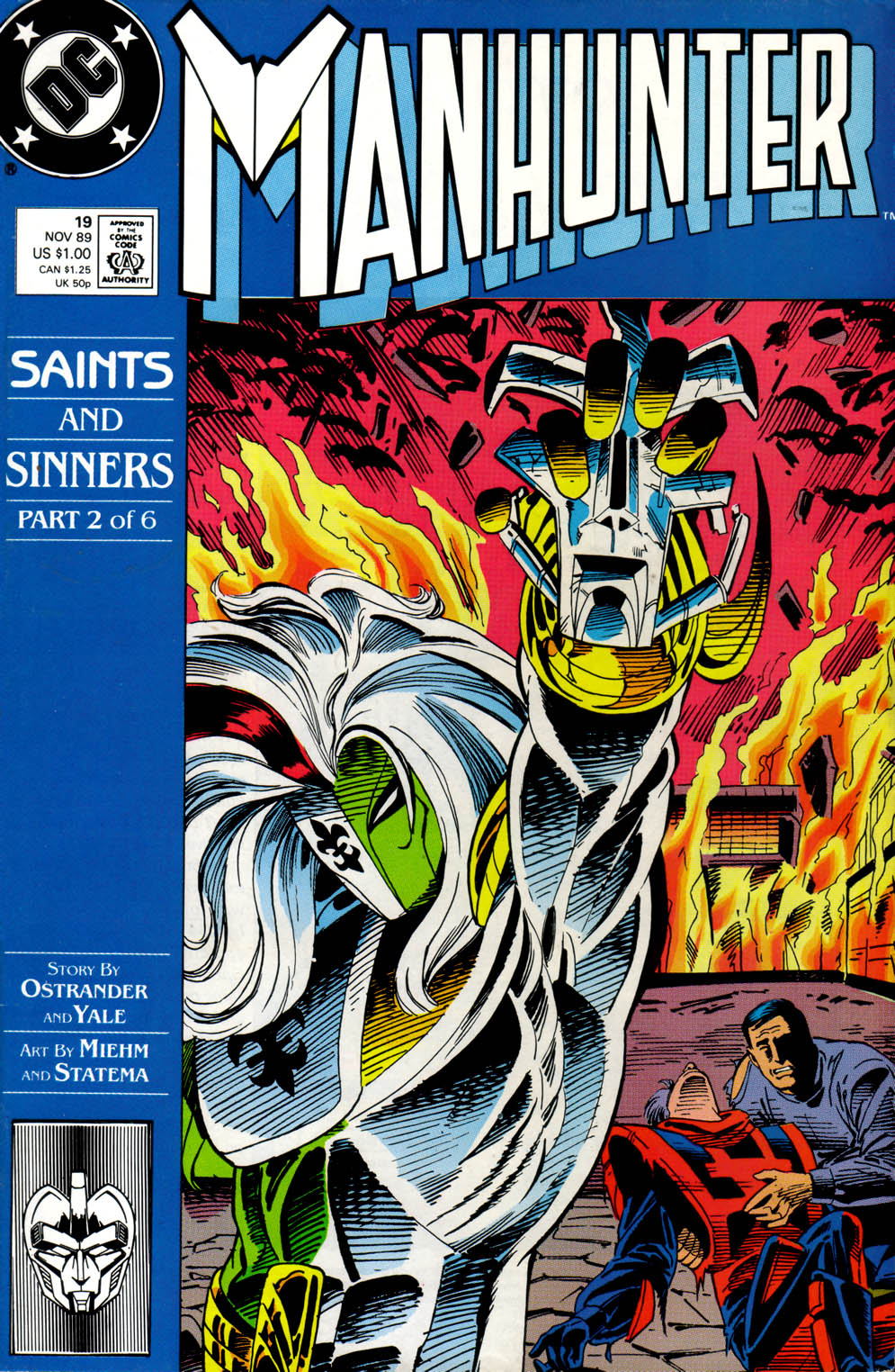 Manhunter (1988) issue 19 - Page 1