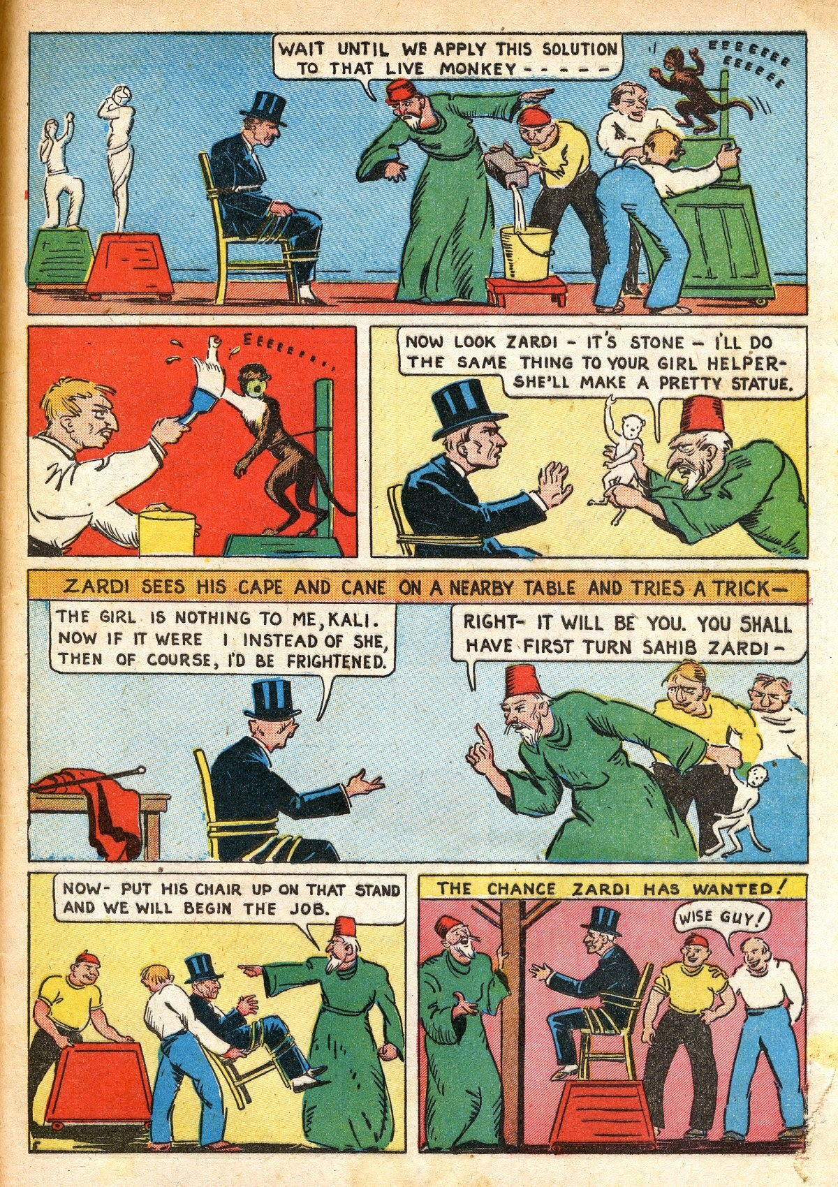 Read online Amazing Man Comics comic -  Issue #16 - 63
