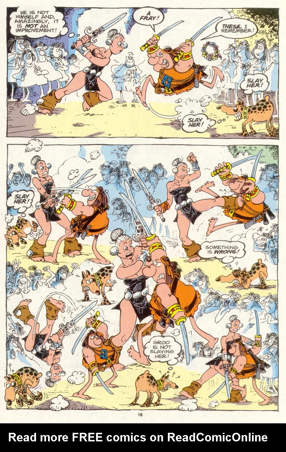 Read online Sergio Aragonés Groo the Wanderer comic -  Issue #89 - 17